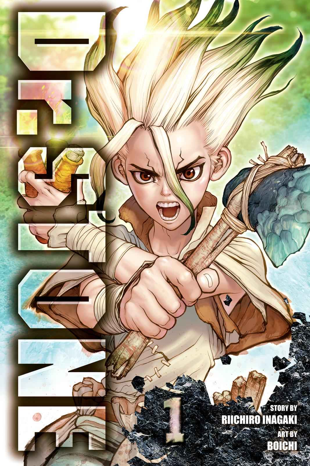 Dr. Stone Chapter 1 Page 1