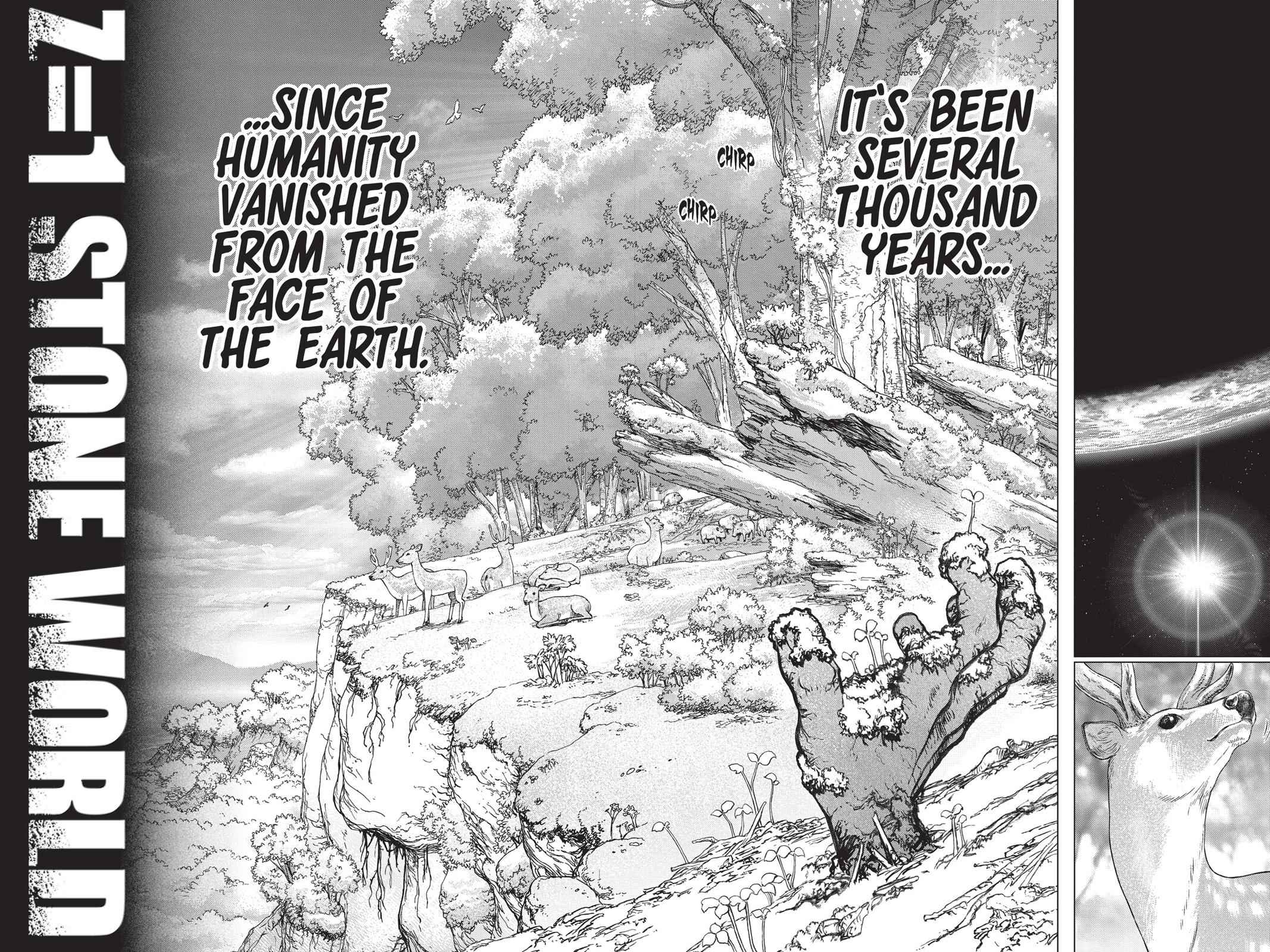 Dr. Stone Chapter 1 Page 33