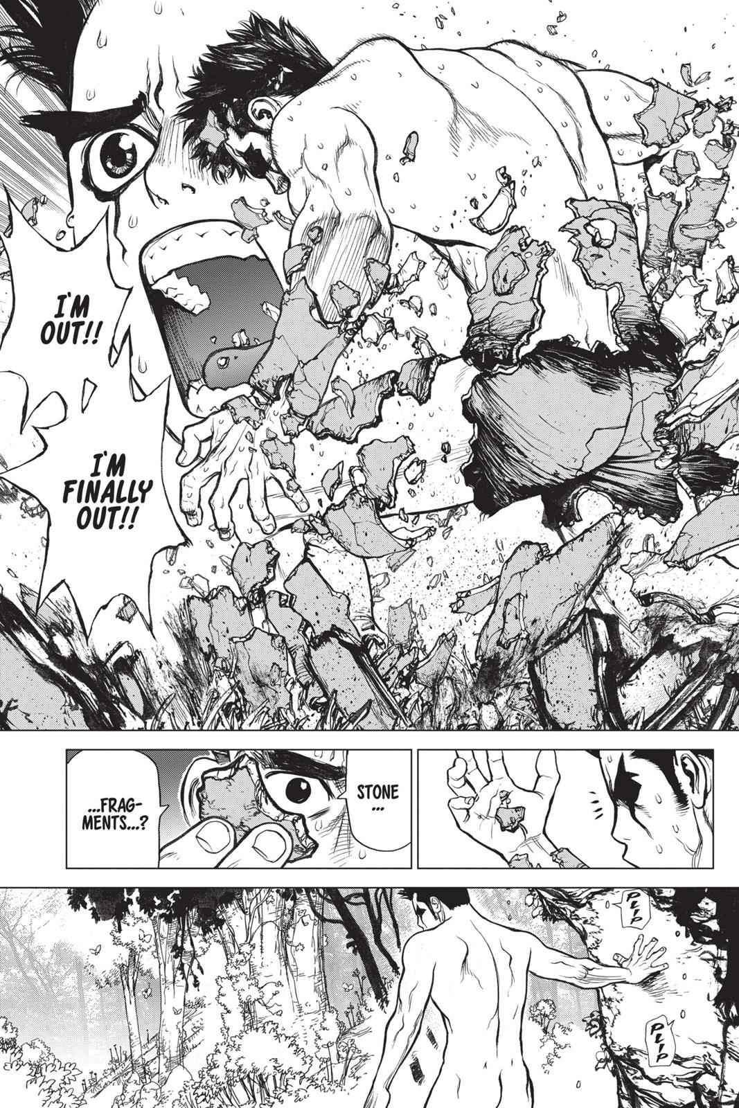 Dr. Stone Chapter 1 Page 35