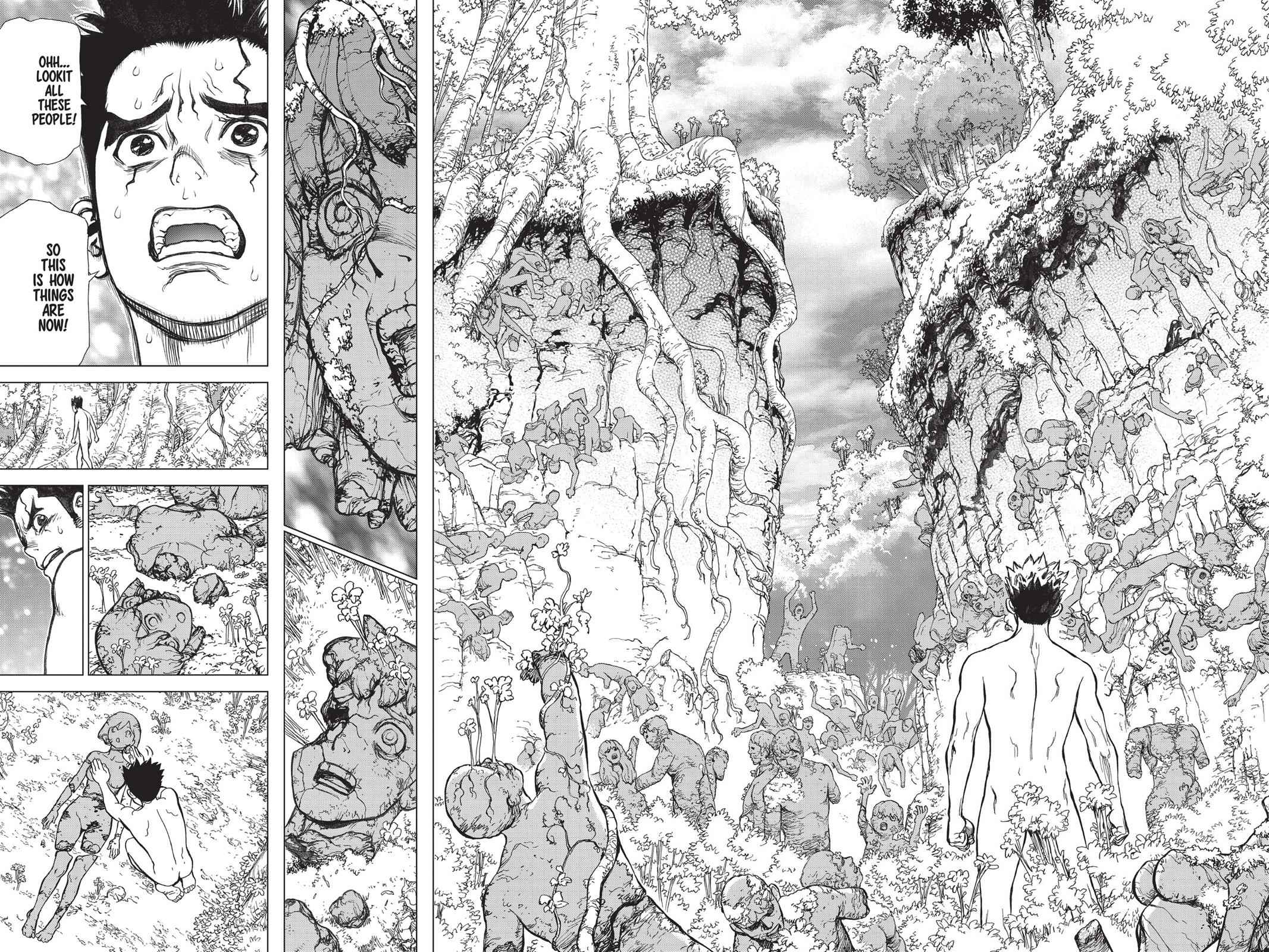 Dr. Stone Chapter 1 Page 36