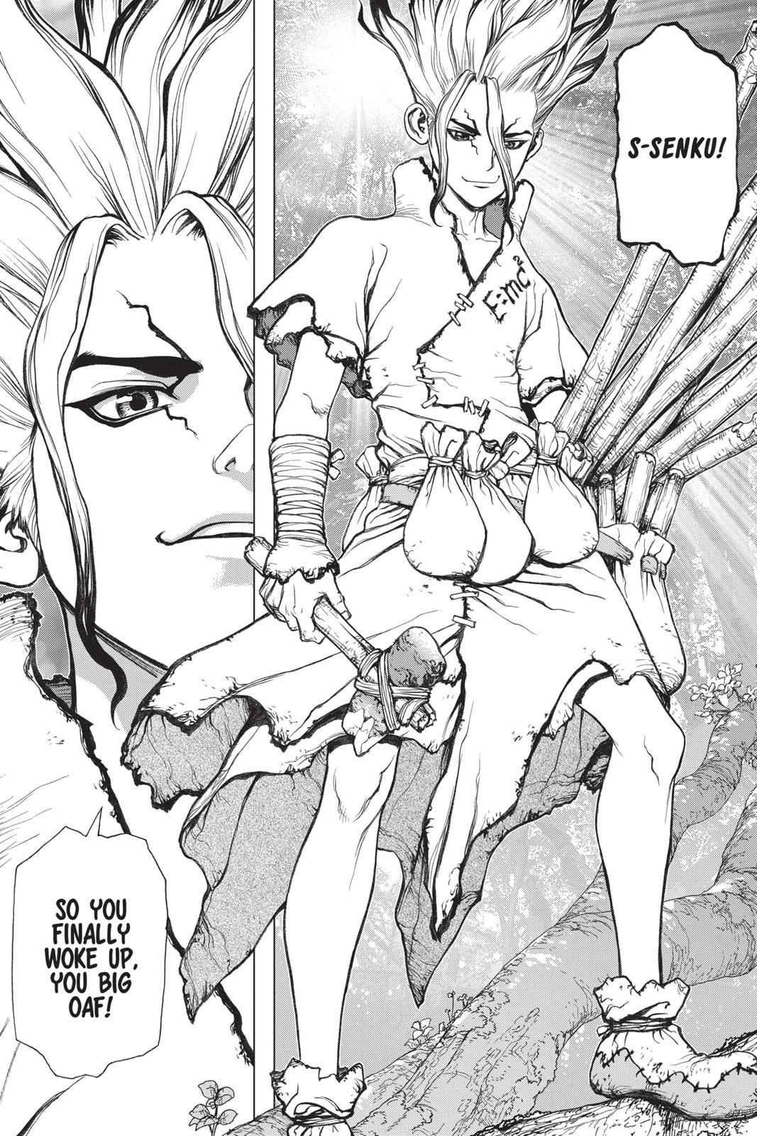 Dr. Stone Chapter 1 Page 44