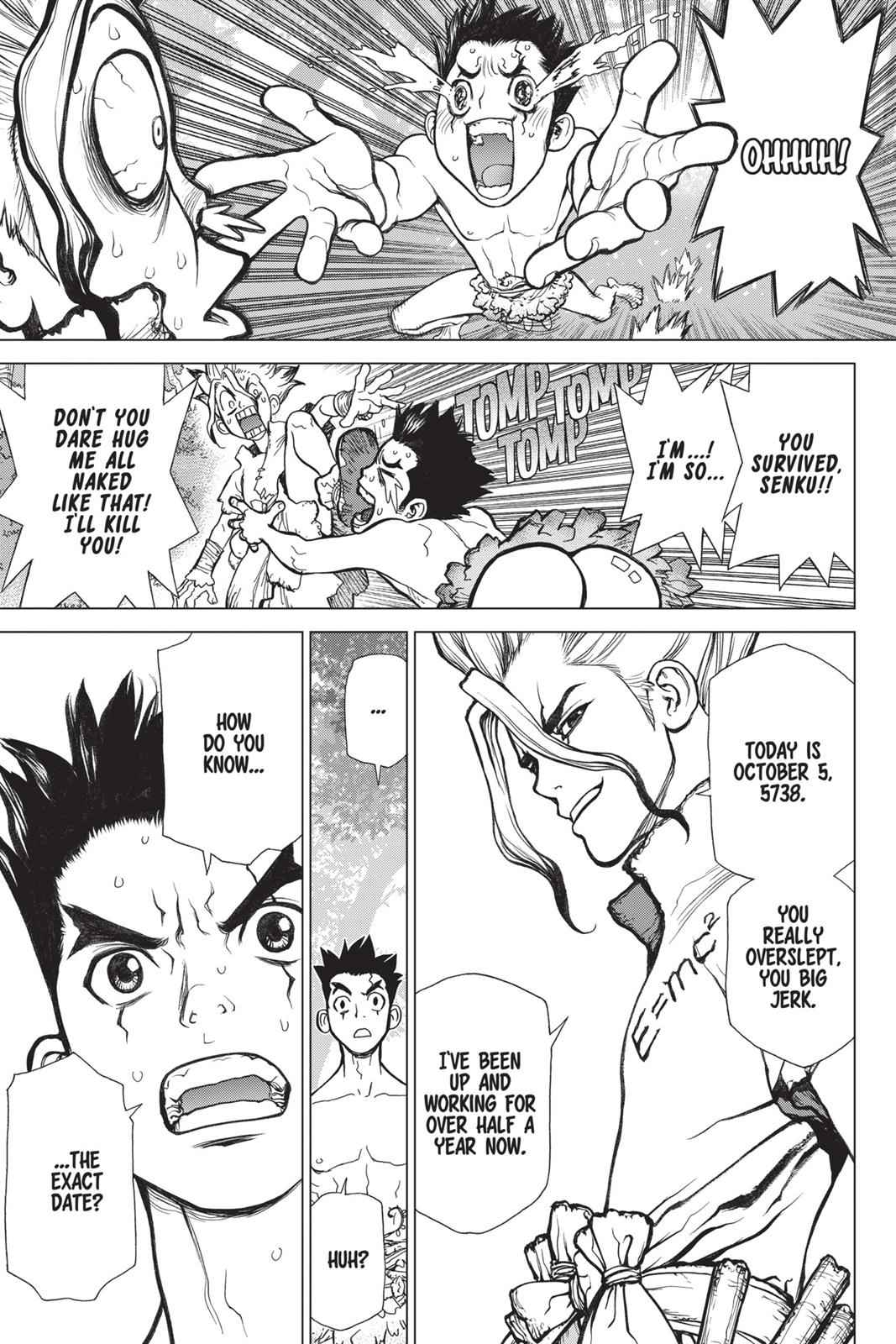 Dr. Stone Chapter 1 Page 45