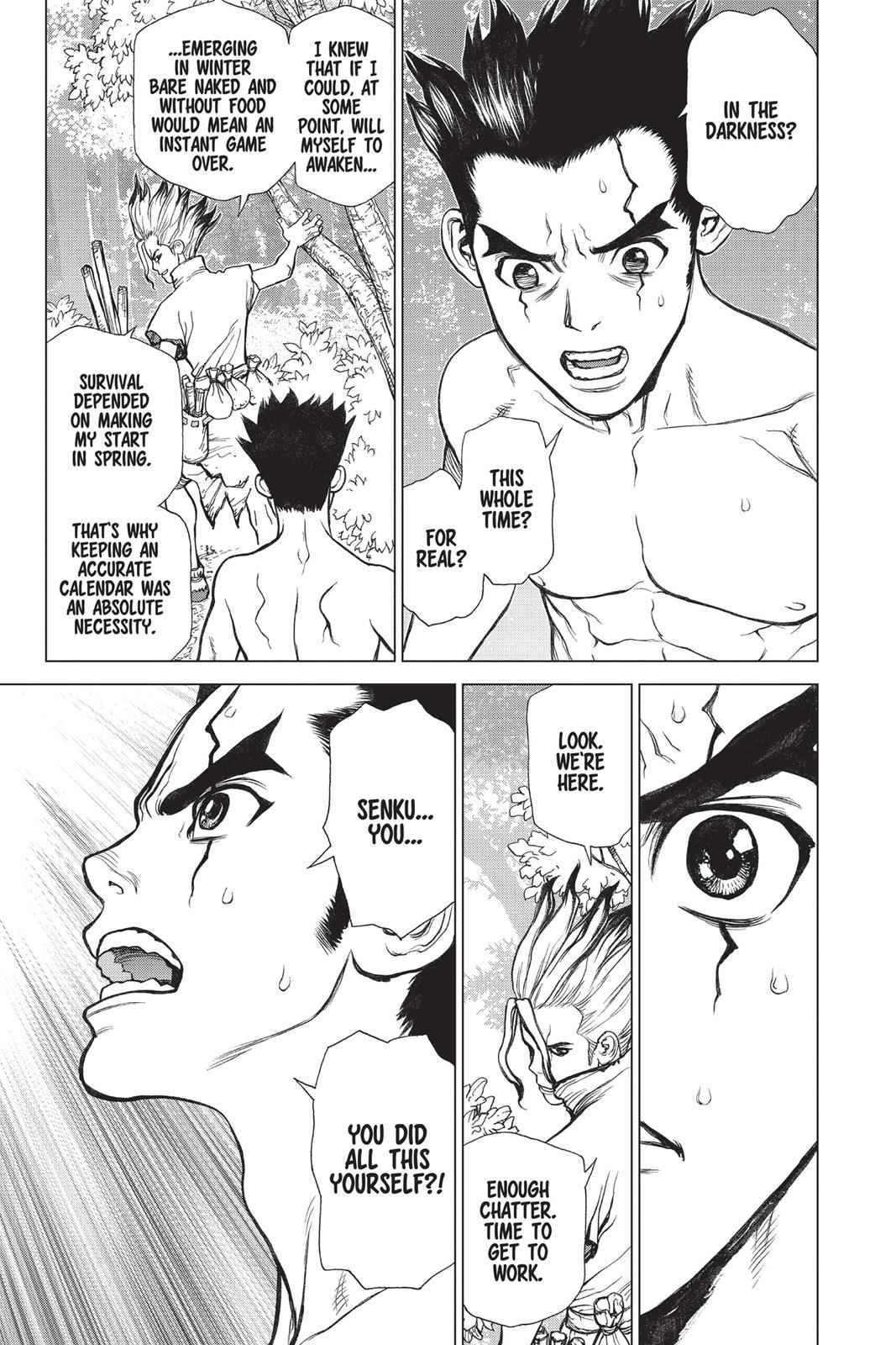 Dr. Stone Chapter 1 Page 47