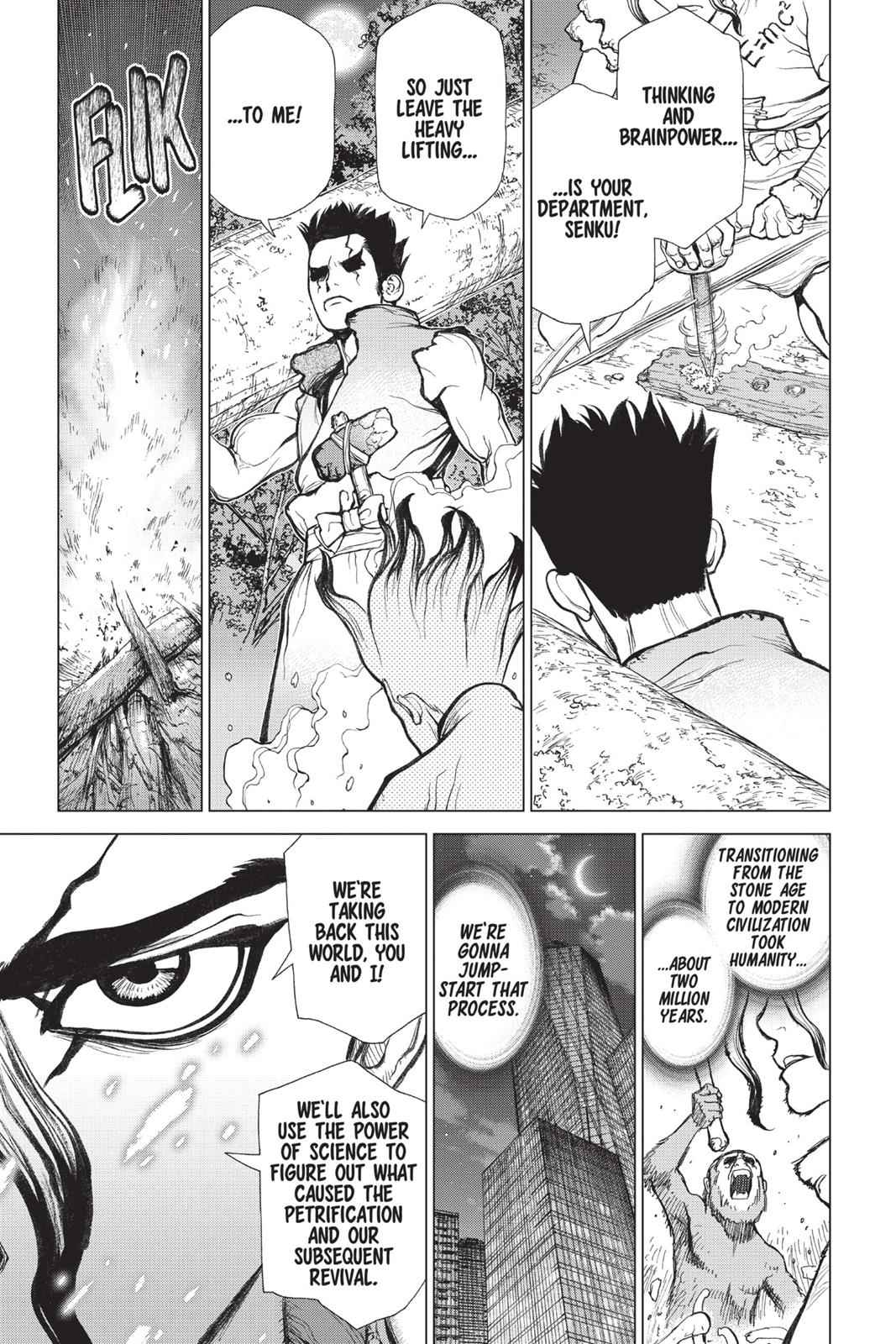 Dr. Stone Chapter 1 Page 50