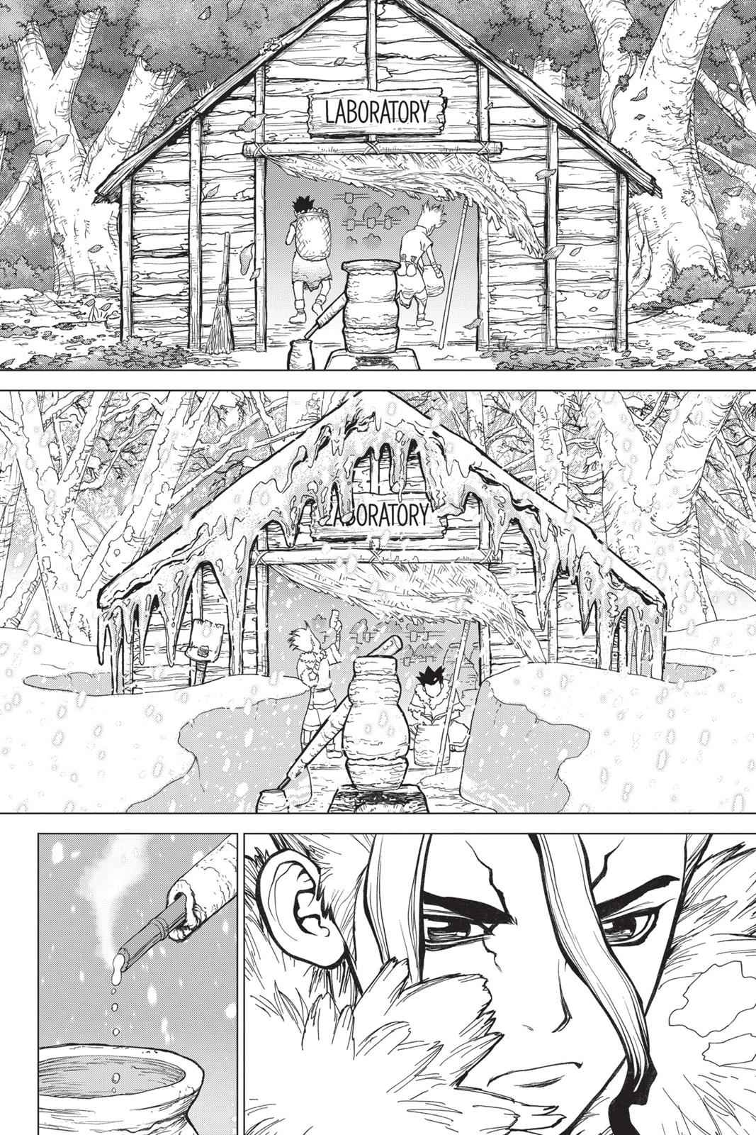 Dr. Stone Chapter 2 Page 16