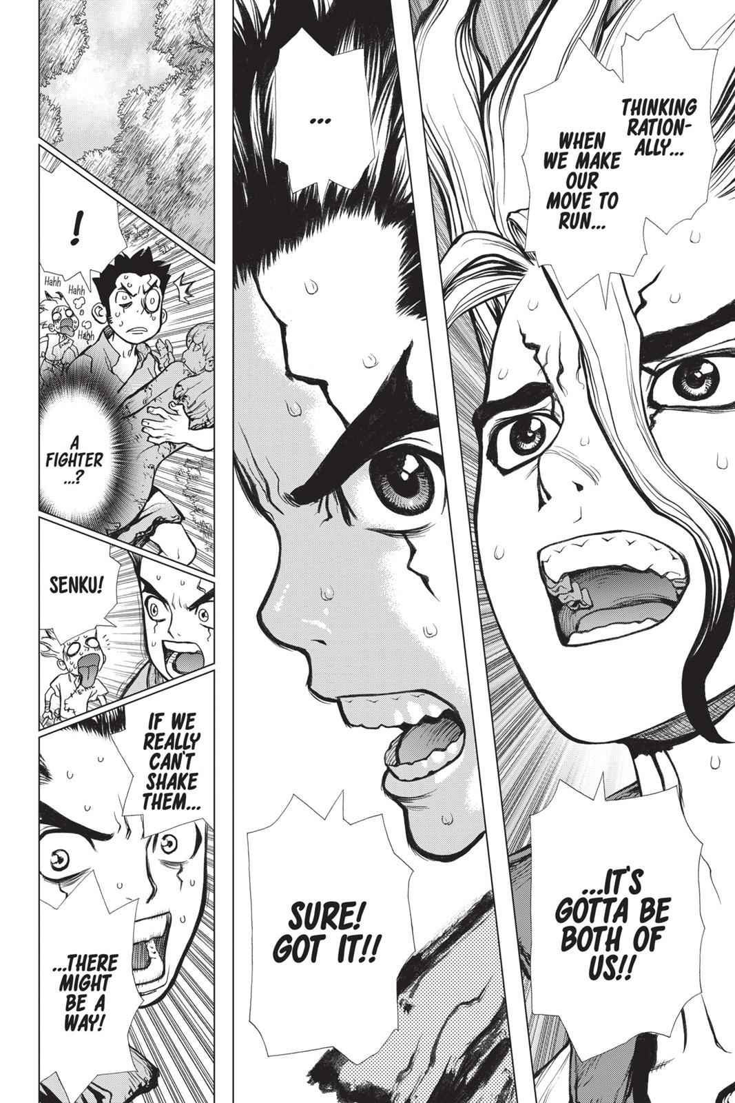 Dr. Stone Chapter 3 Page 12