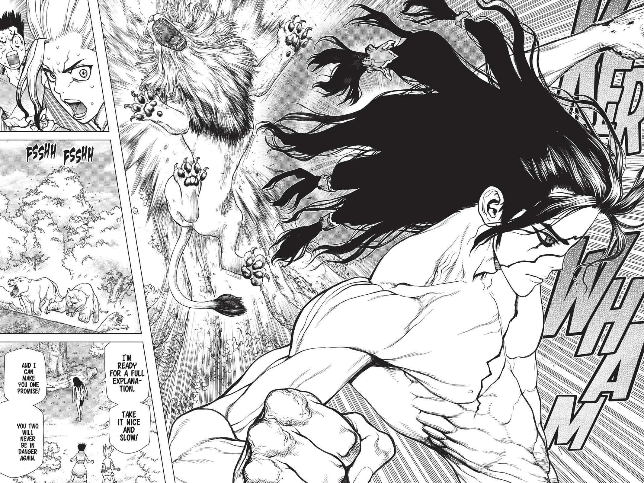 Dr. Stone Chapter 3 Page 18