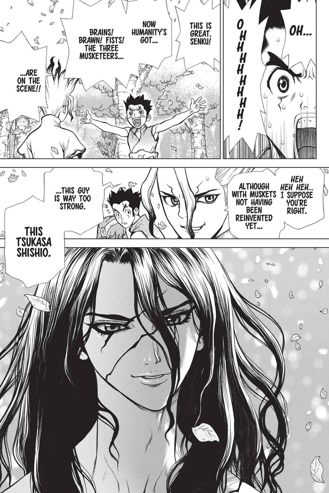 Dr. Stone Chapter 3 Page 20