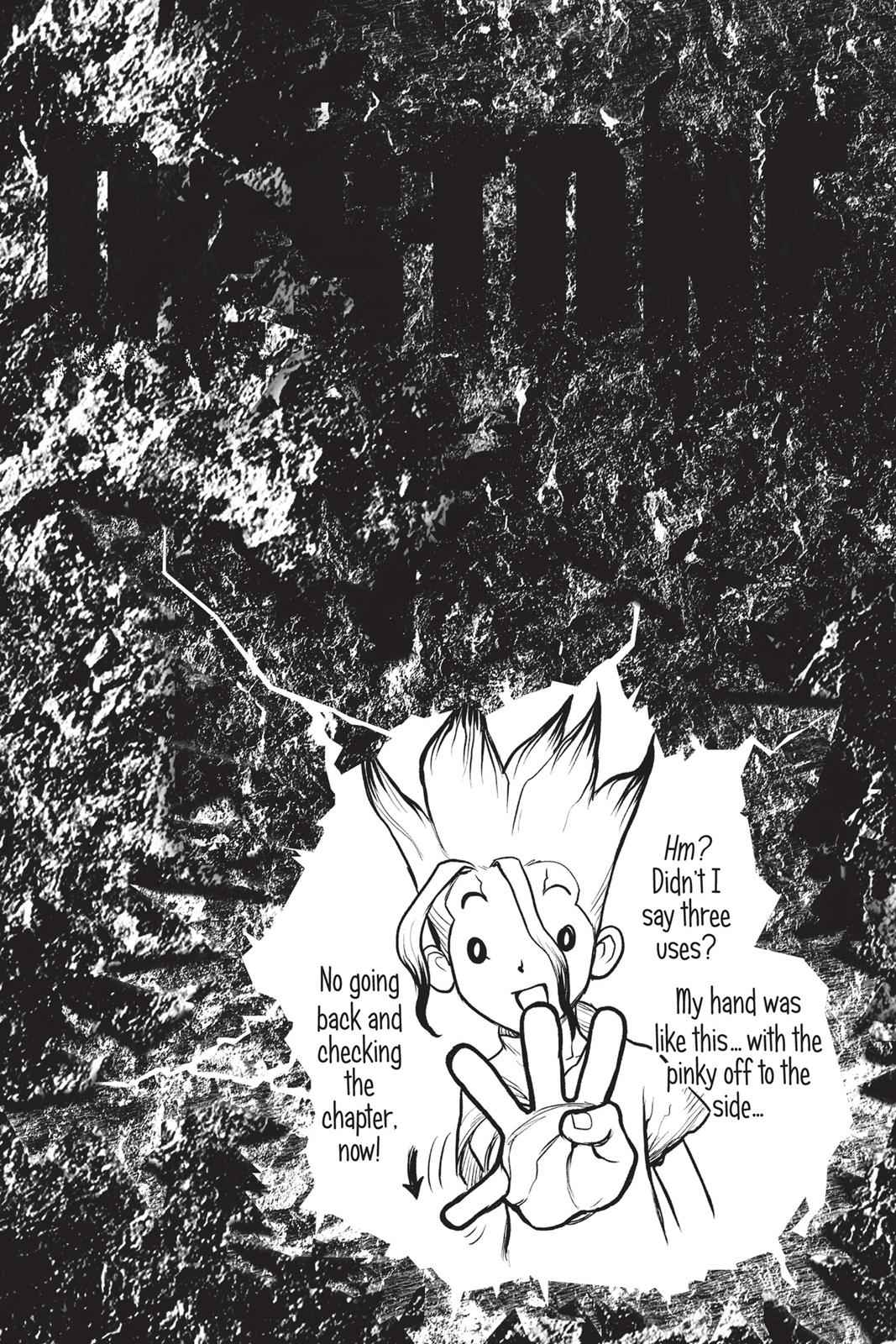 Dr. Stone Chapter 4 Page 18