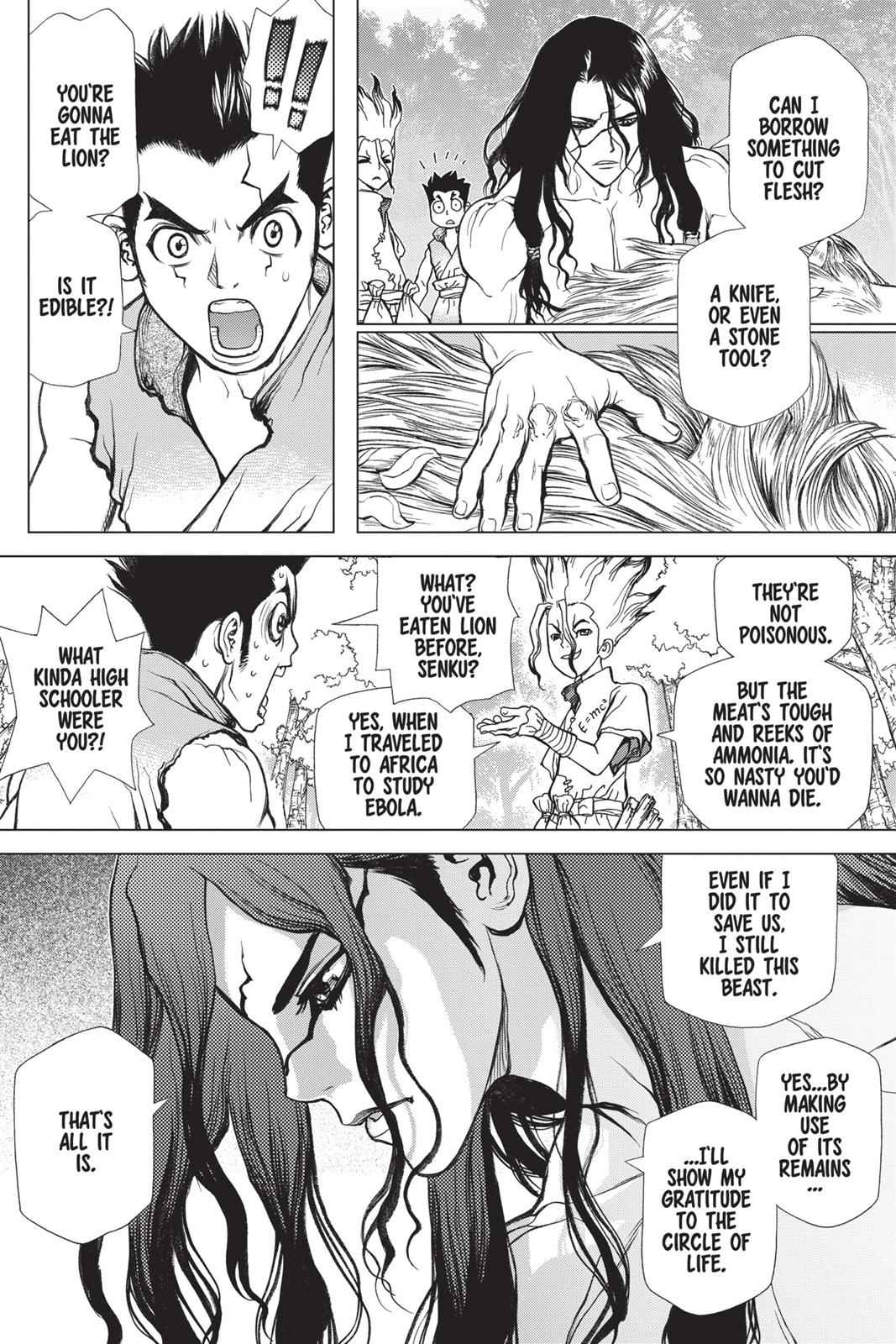 Dr. Stone Chapter 4 Page 2