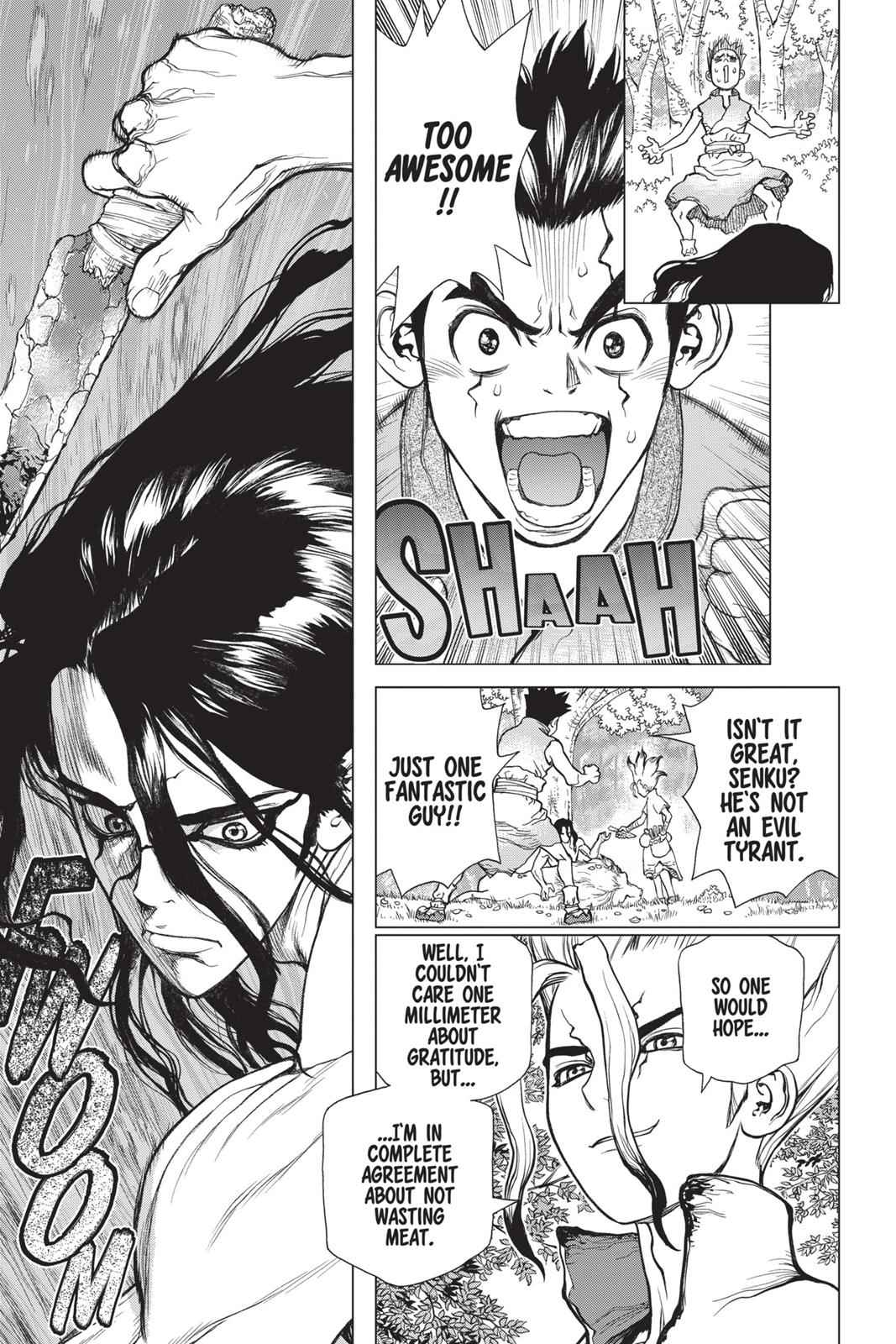 Dr. Stone Chapter 4 Page 3