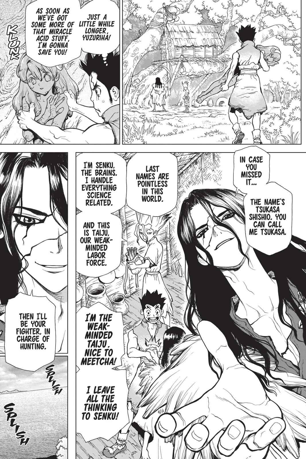 Dr. Stone Chapter 4 Page 5