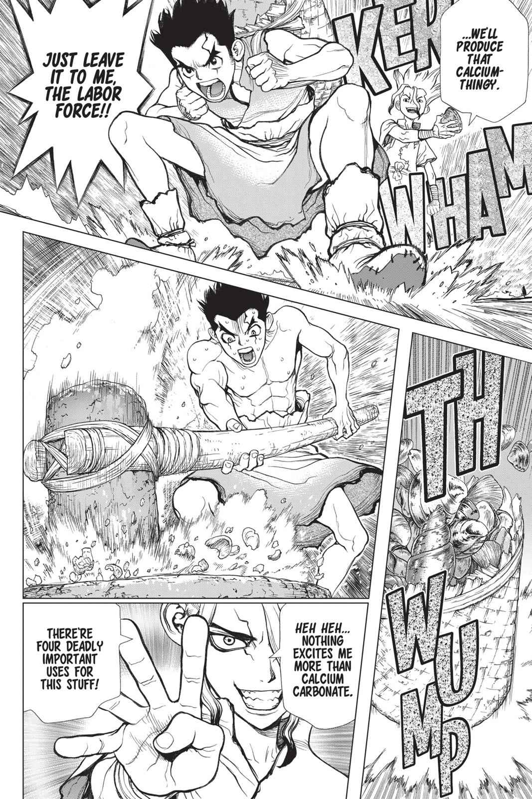Dr. Stone Chapter 4 Page 9