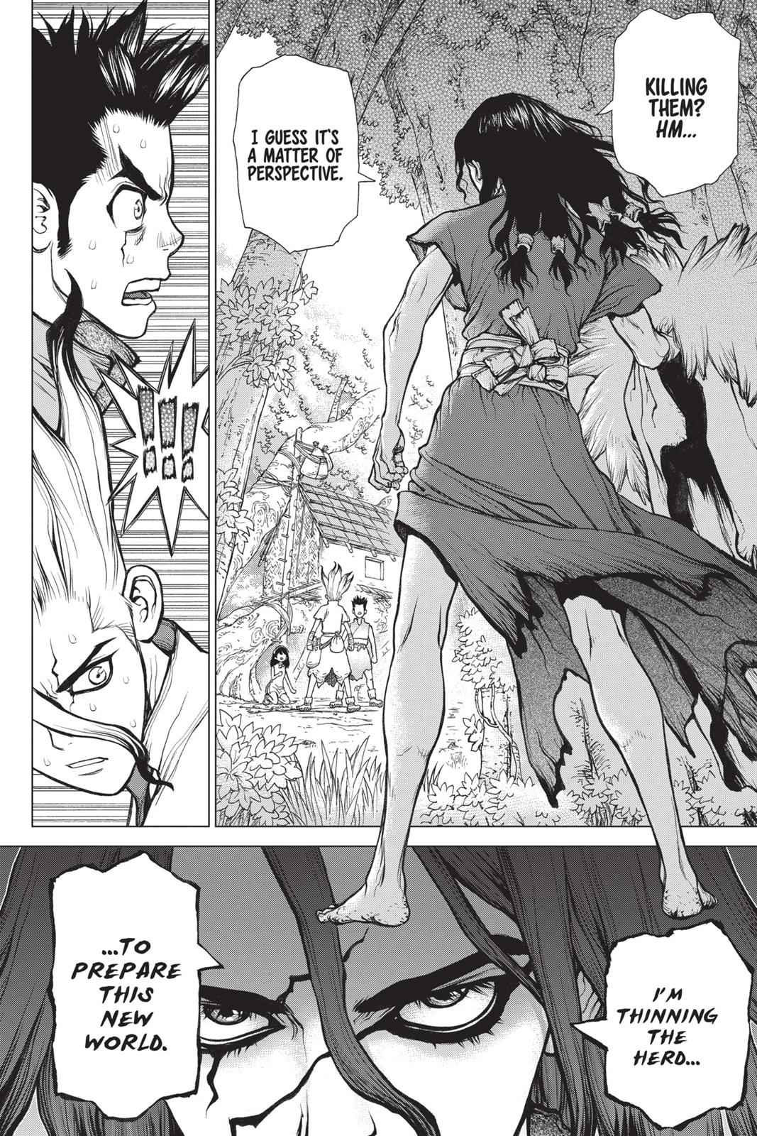 Dr. Stone Chapter 6 Page 2