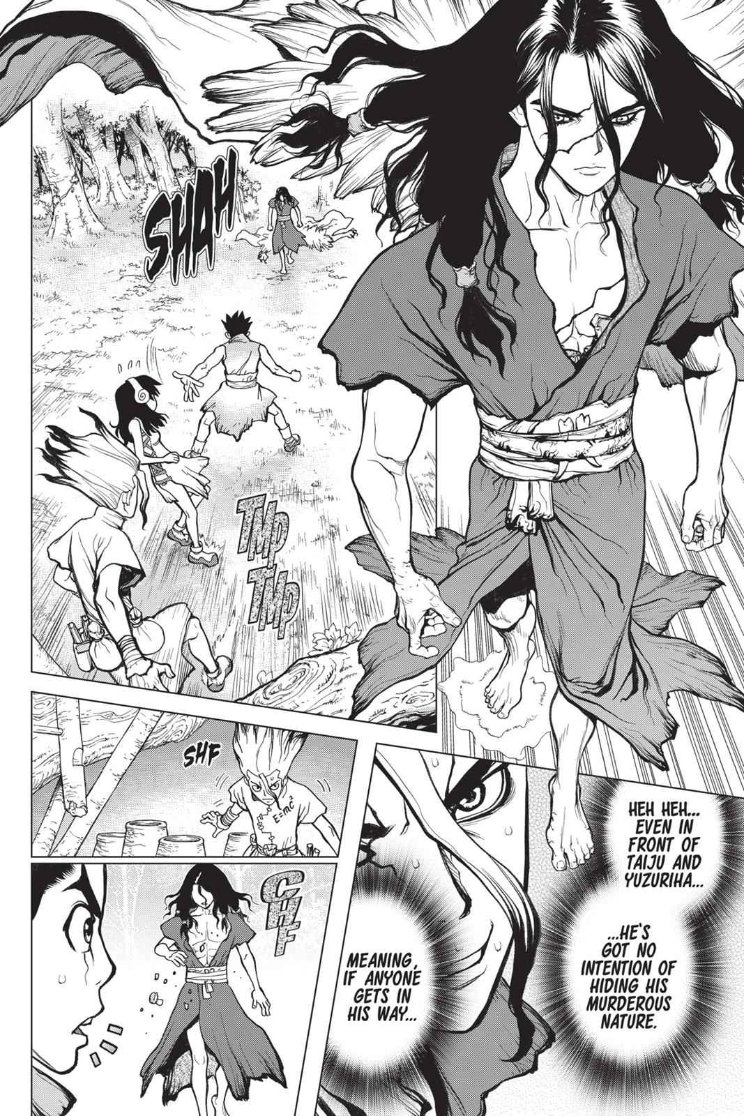 Dr. Stone Chapter 6 Page 4