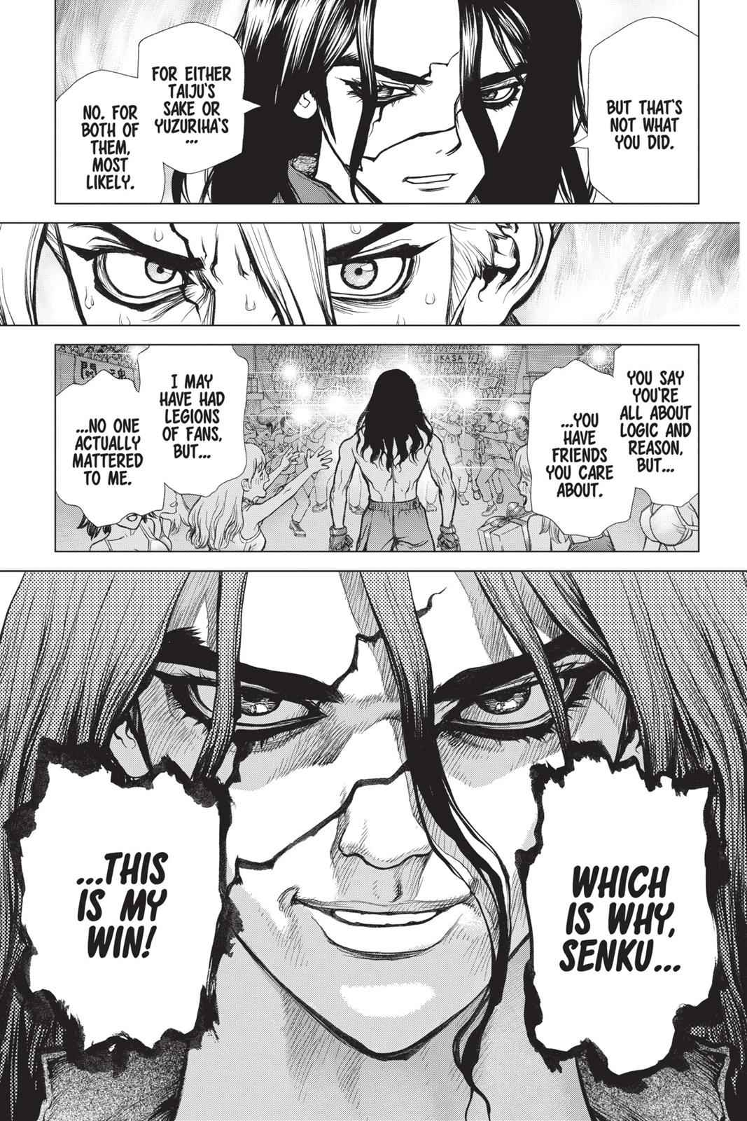 Dr. Stone Chapter 9 Page 10
