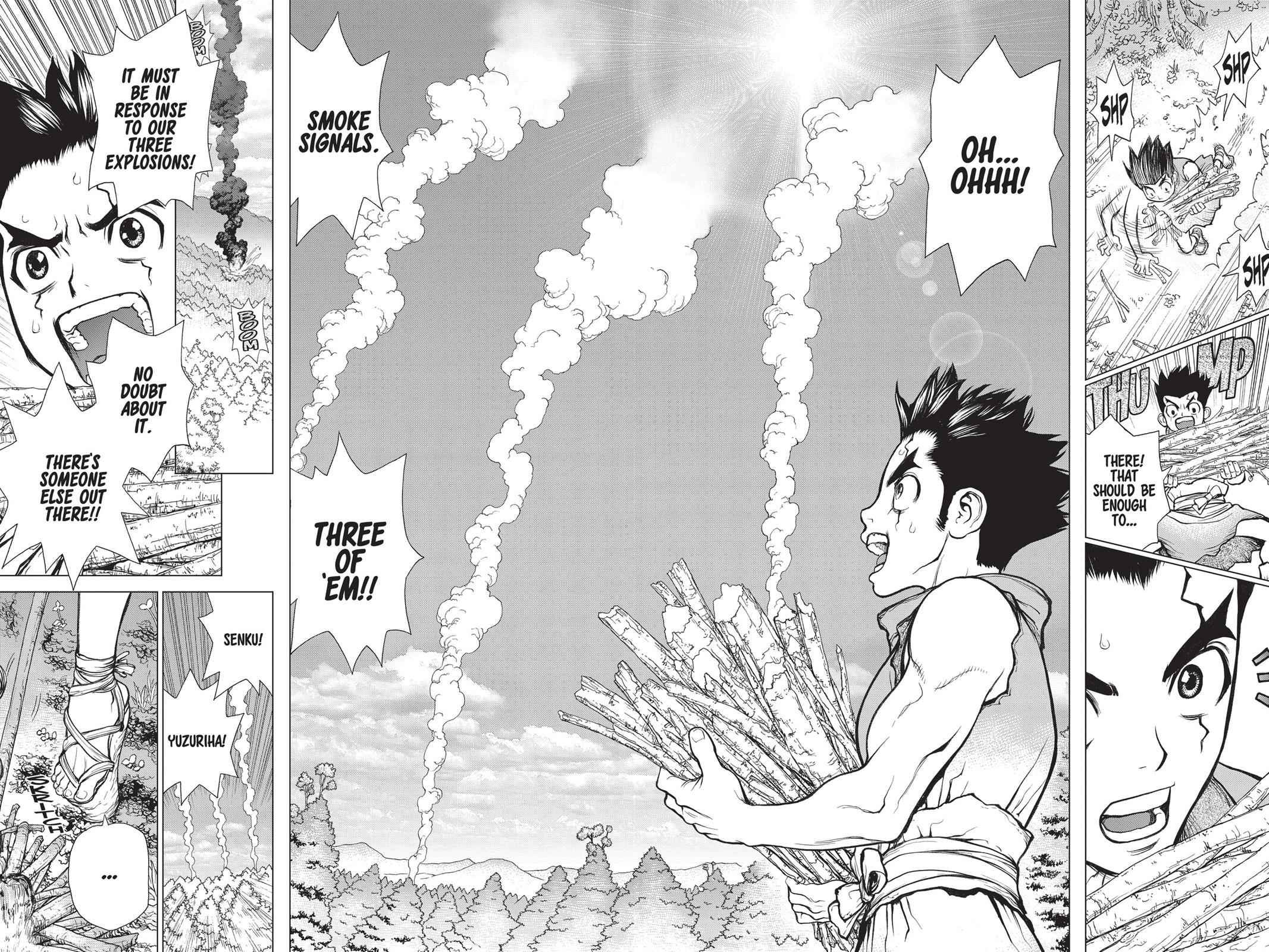 Dr. Stone Chapter 9 Page 15