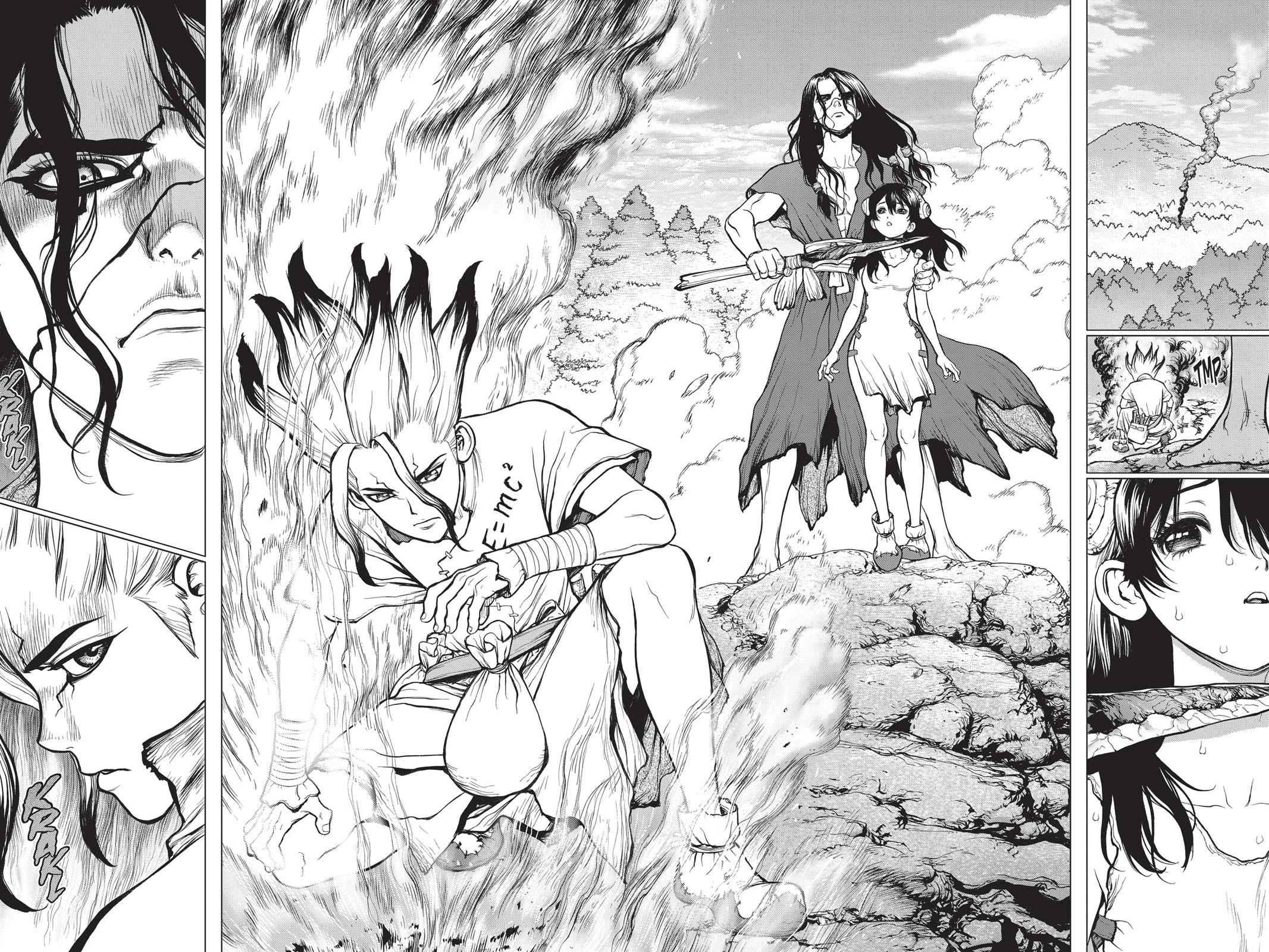 Dr. Stone Chapter 9 Page 6