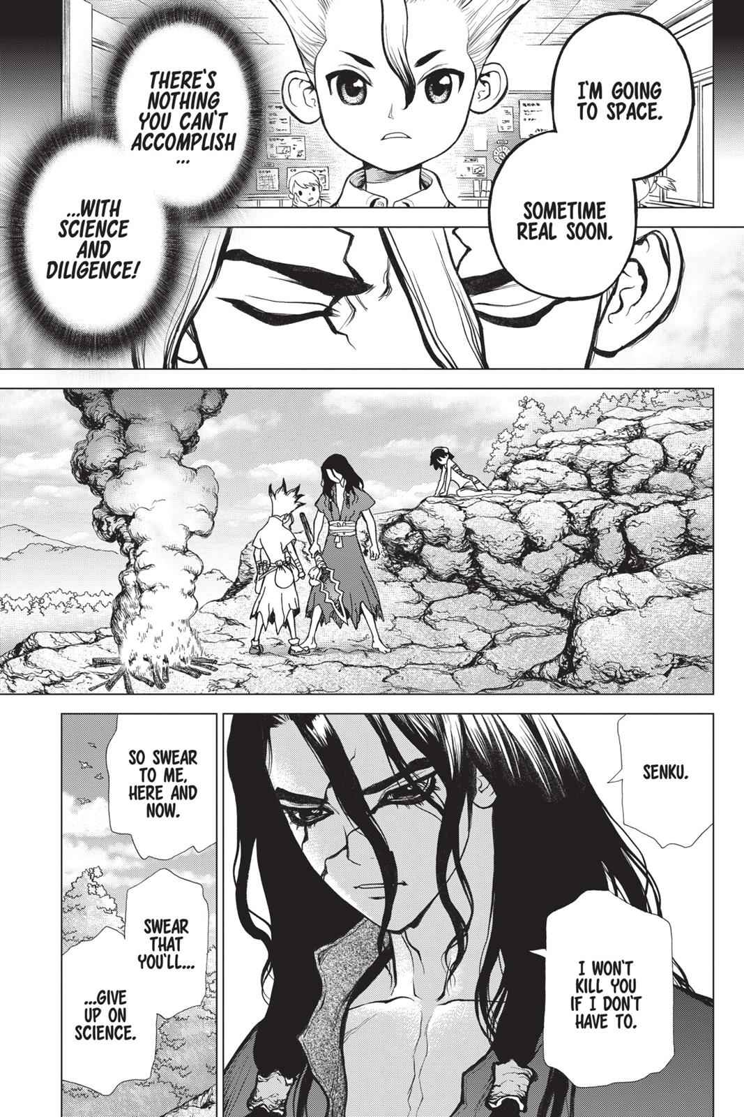 Dr. Stone Chapter 10 Page 11