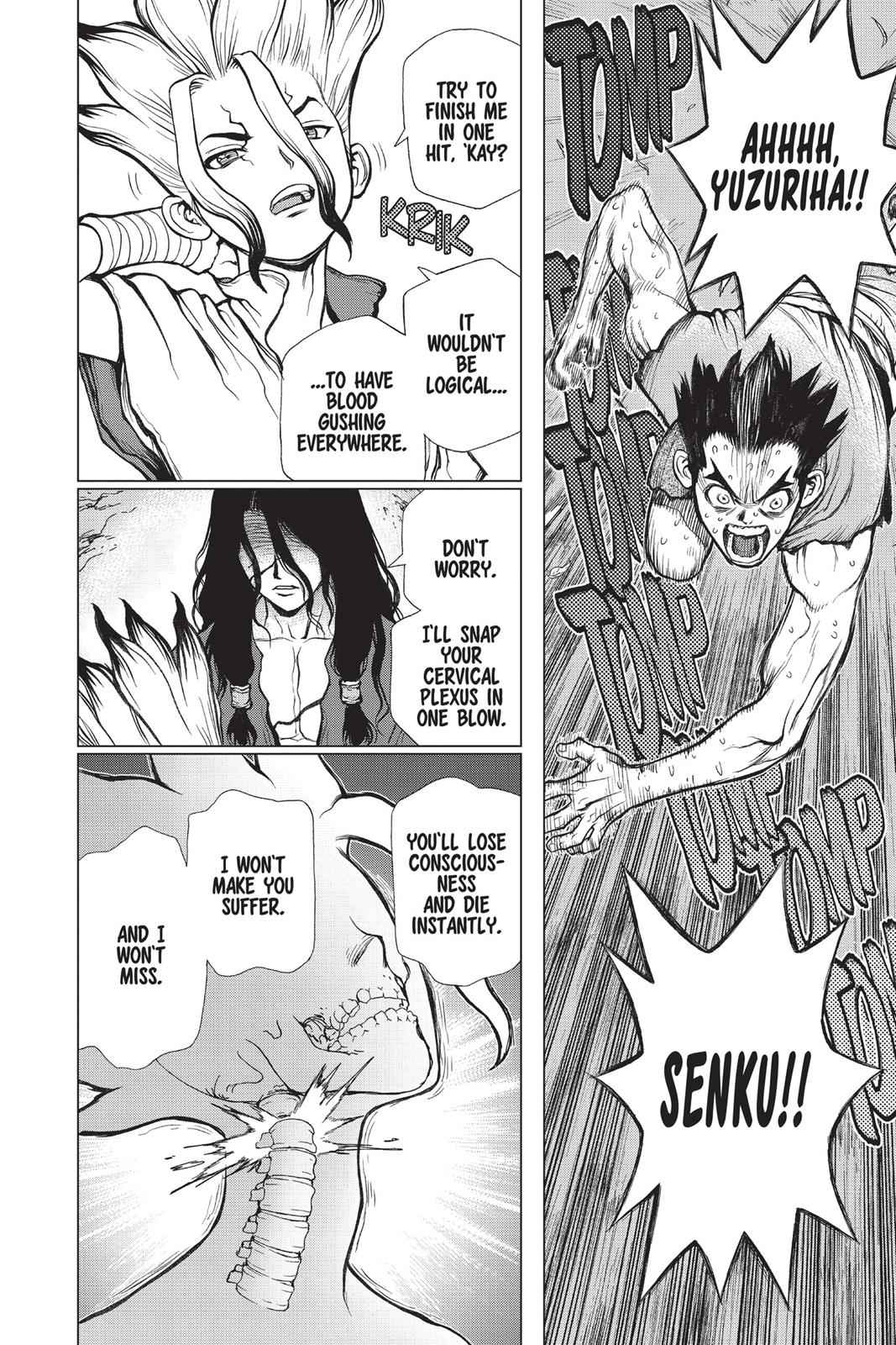 Dr. Stone Chapter 10 Page 14