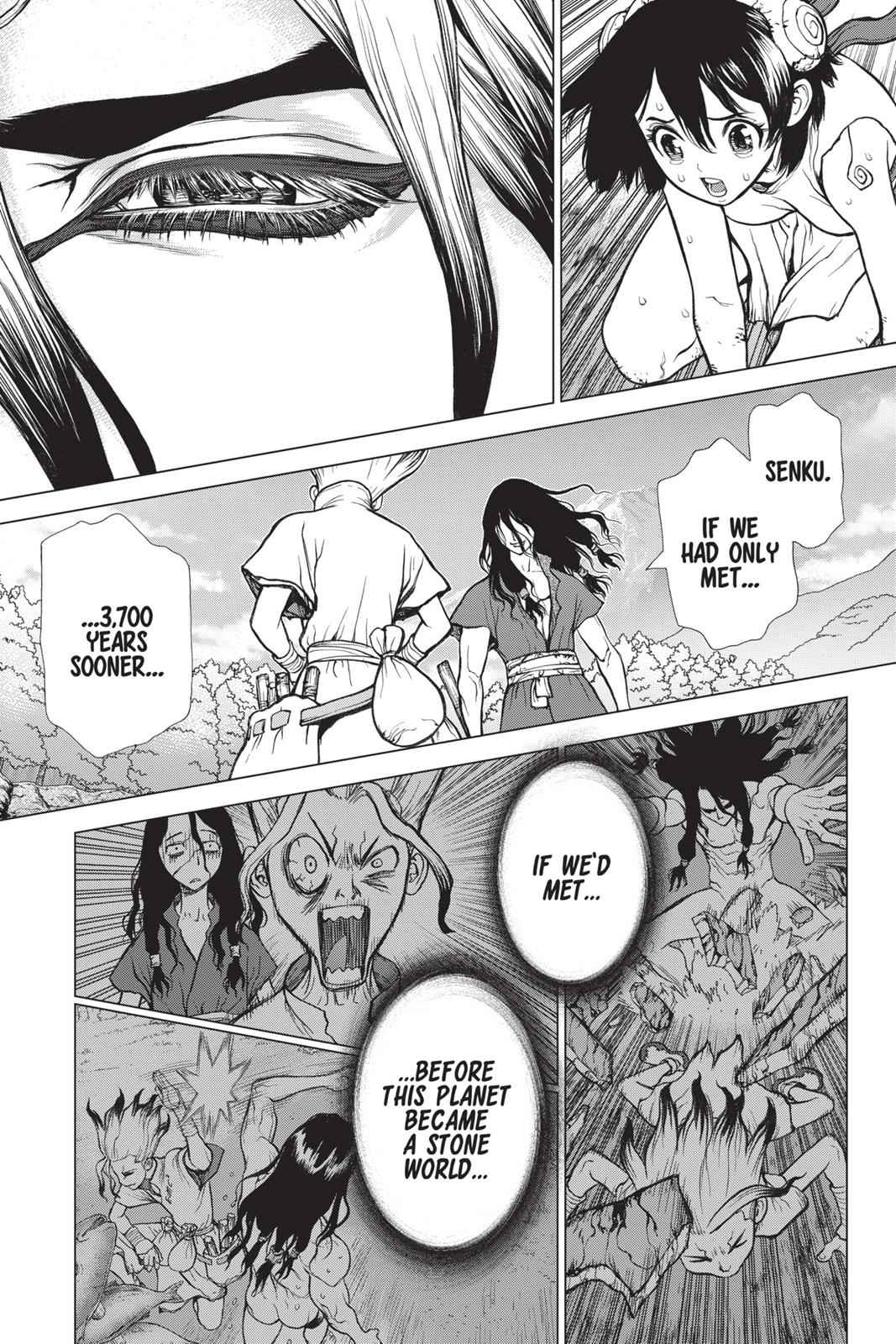 Dr. Stone Chapter 10 Page 15