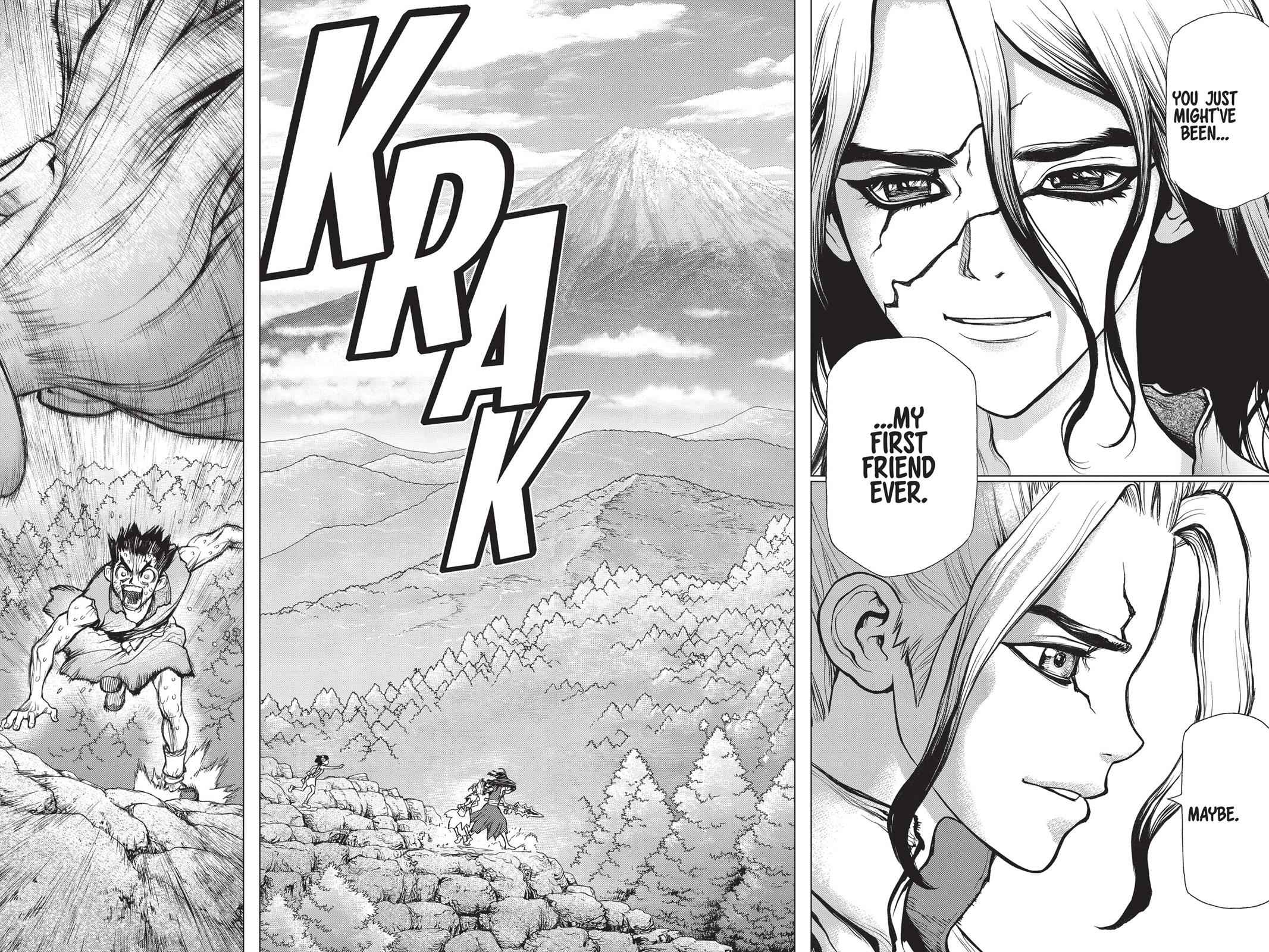 Dr. Stone Chapter 10 Page 16