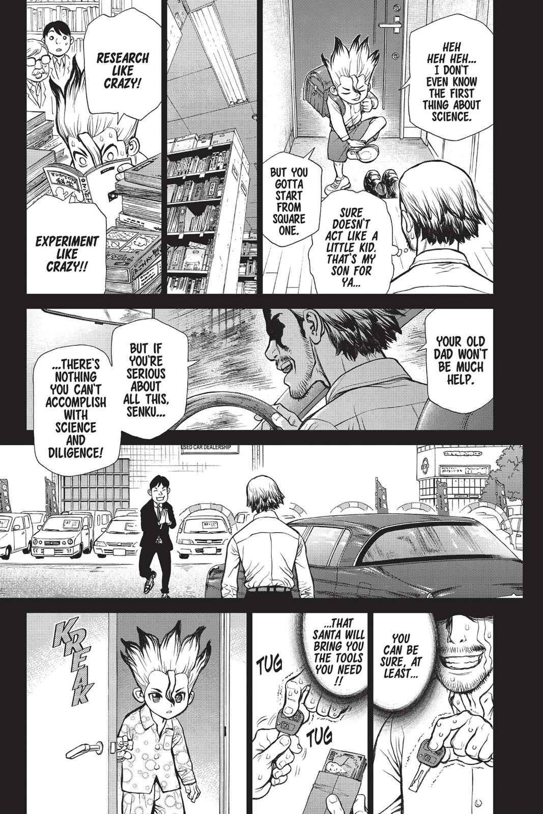 Dr. Stone Chapter 10 Page 3