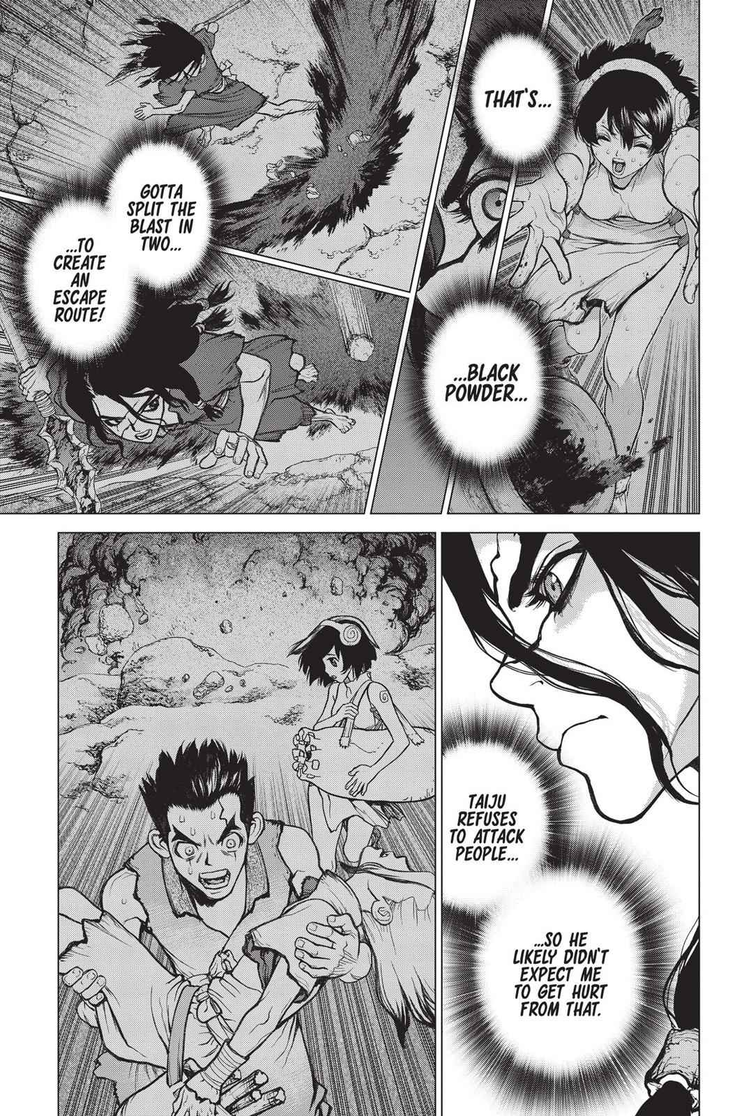 Dr. Stone Chapter 12 Page 3