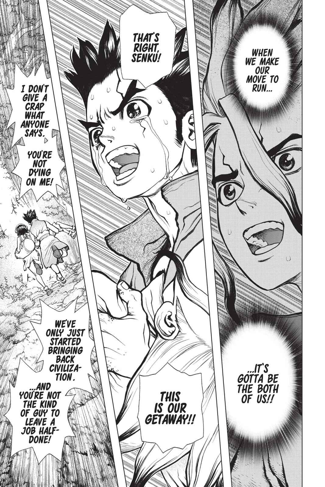 Dr. Stone Chapter 12 Page 5