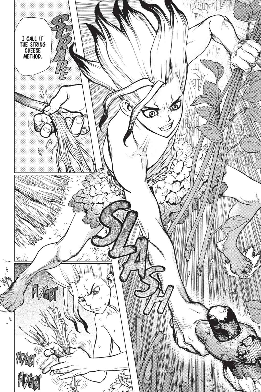 Dr. Stone Chapter 13 Page 13