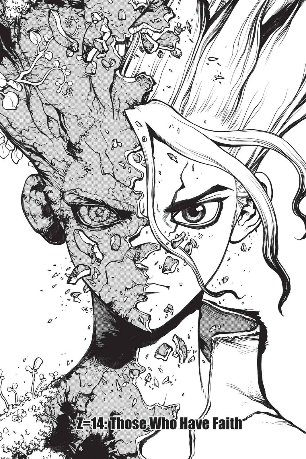 Dr. Stone Chapter 14 Page 1