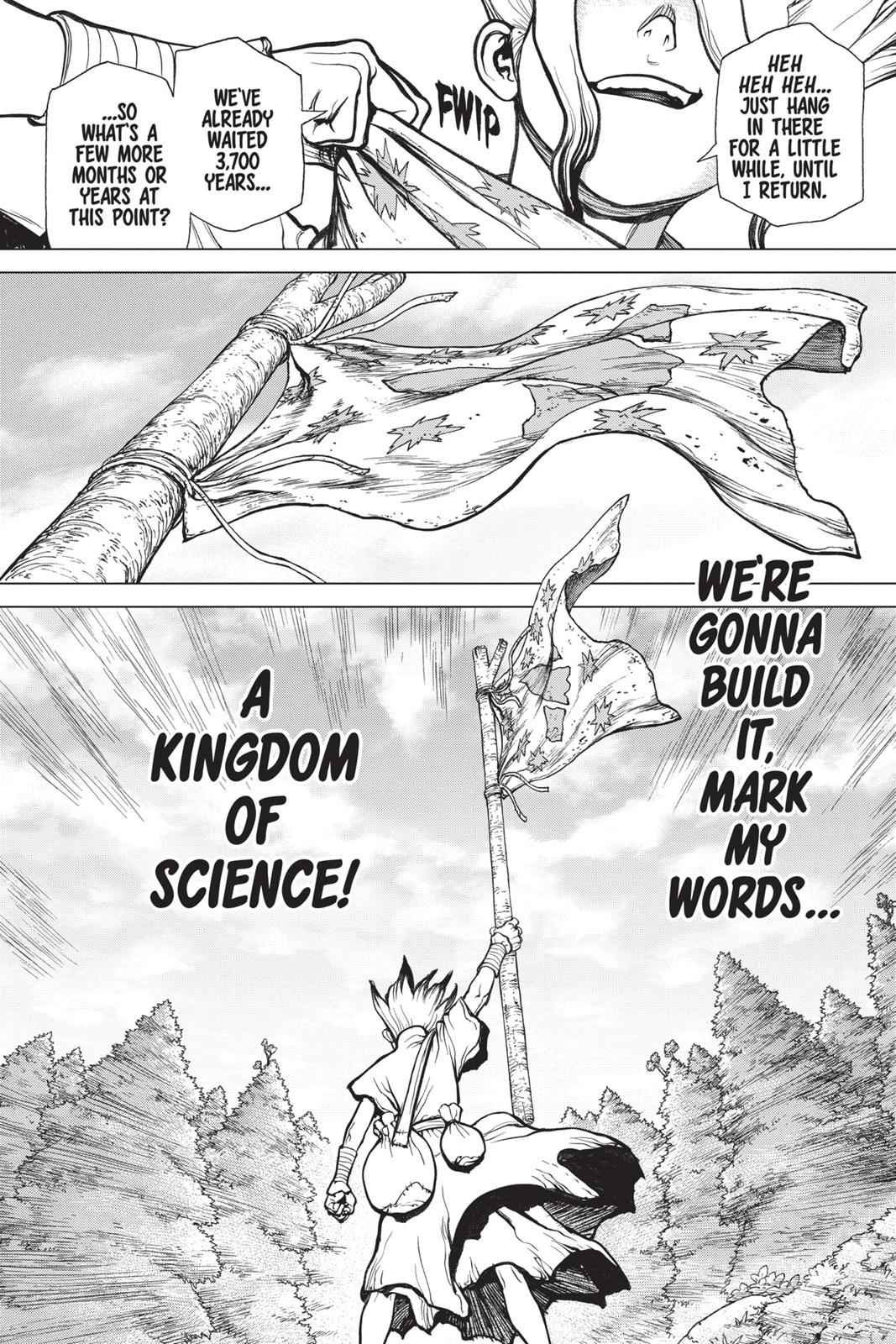 Dr. Stone Chapter 15 Page 17