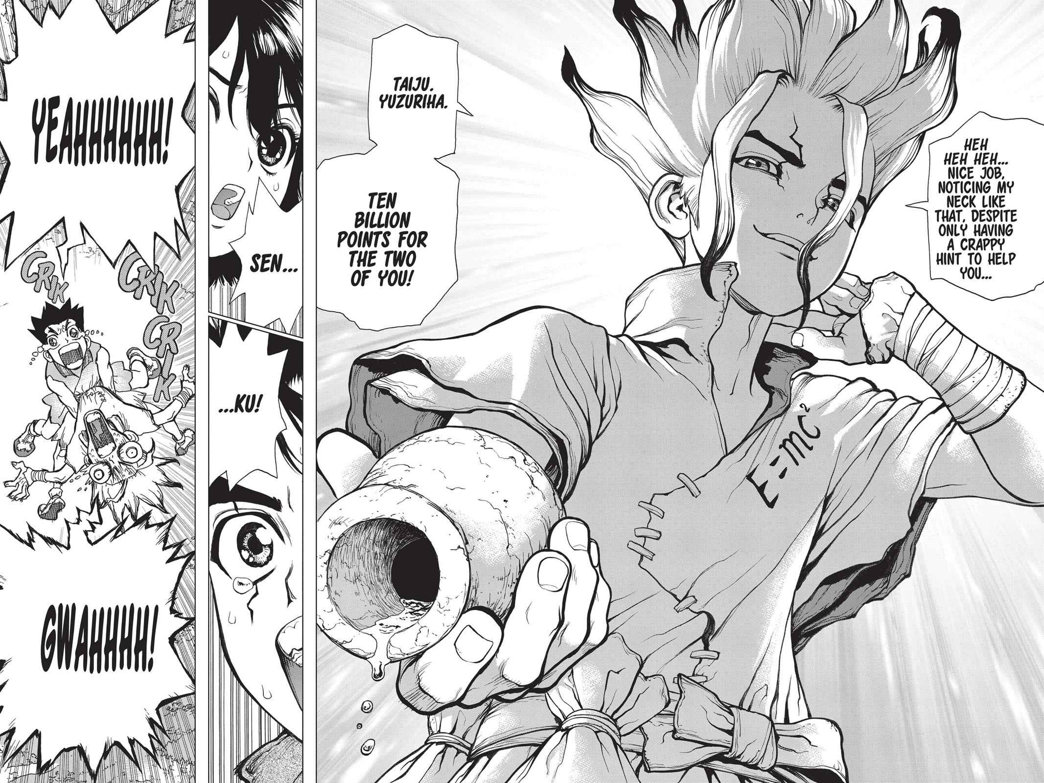 Dr. Stone Chapter 15 Page 4