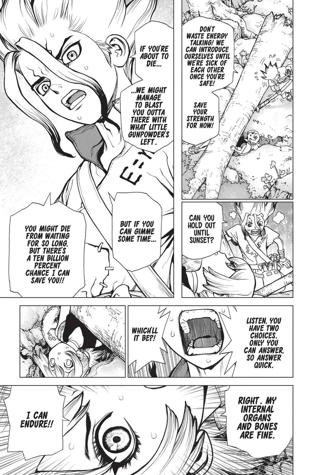 Dr. Stone Chapter 16 Page 12