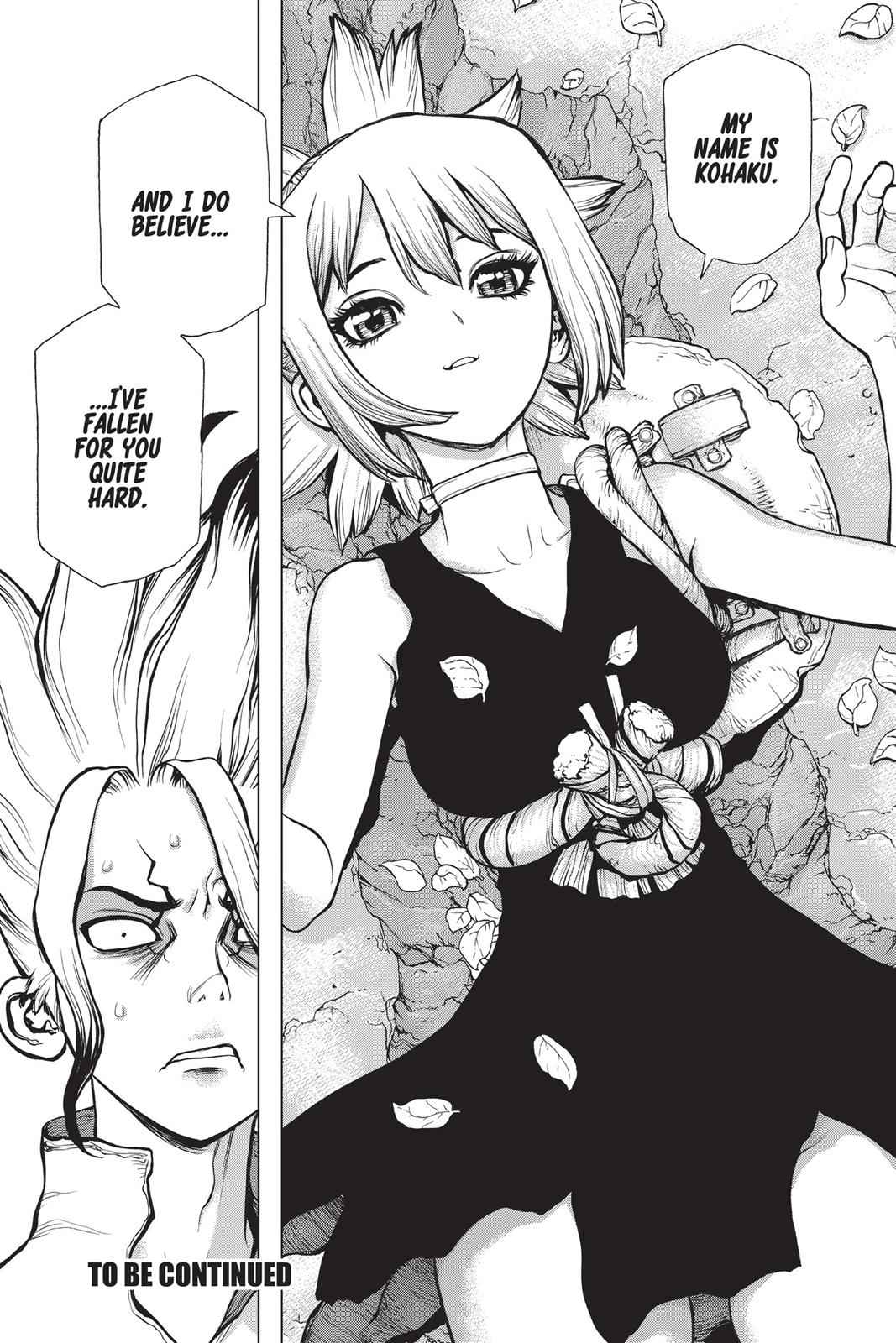 Dr. Stone Chapter 16 Page 17