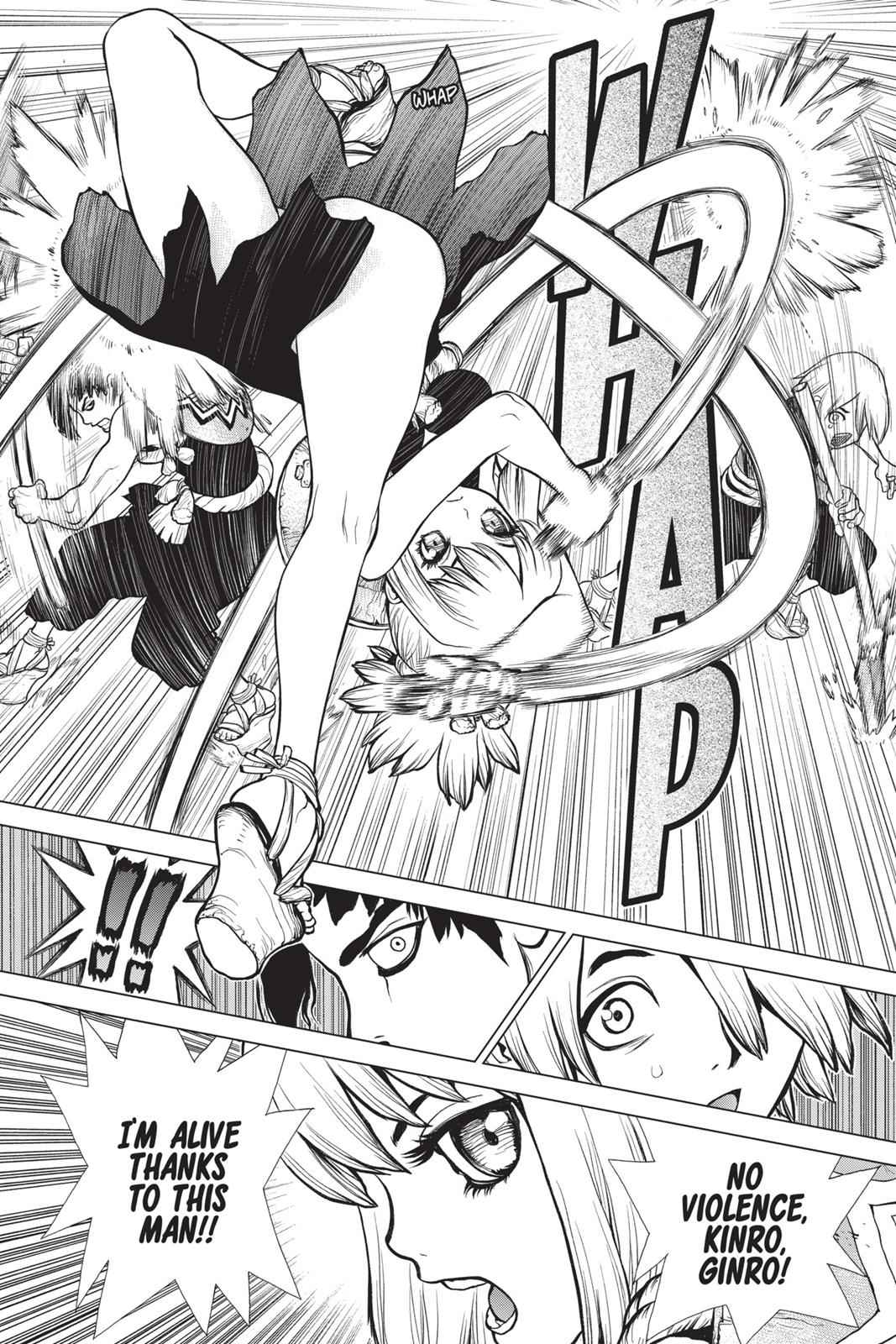 Dr. Stone Chapter 17 Page 19