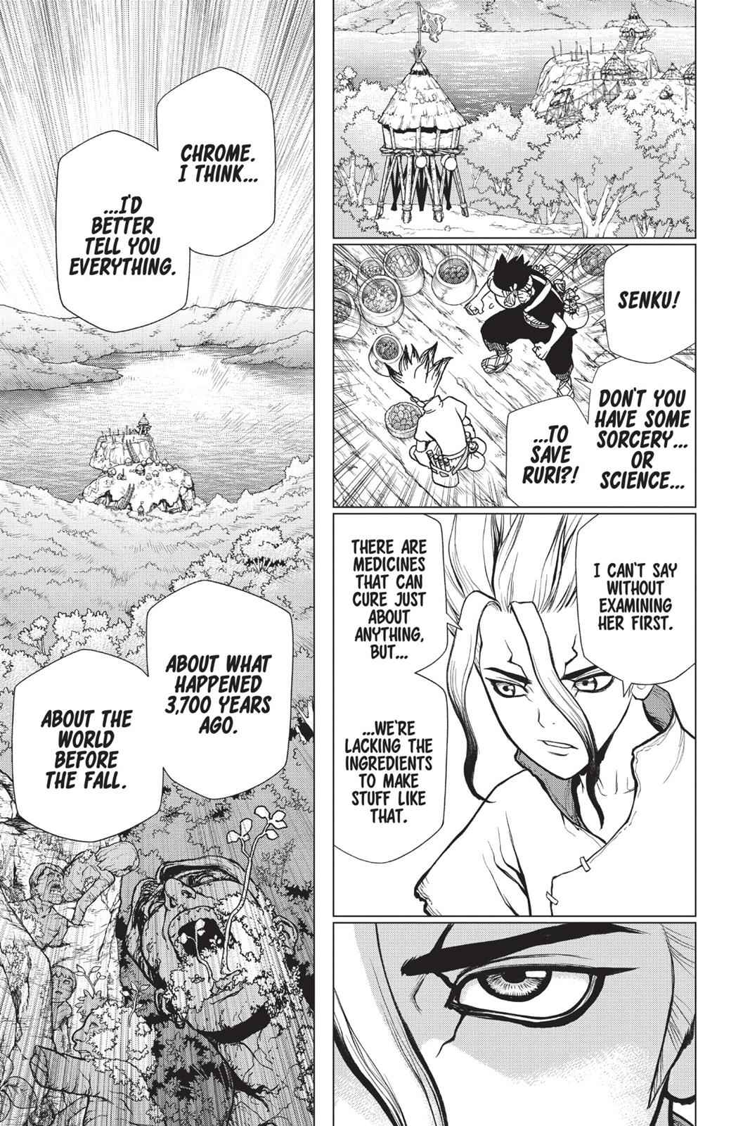Dr. Stone Chapter 19 Page 12