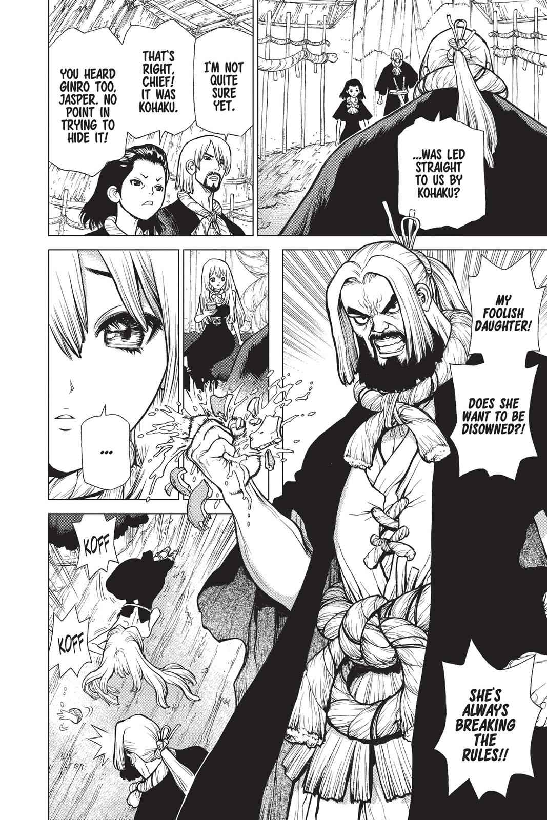 Dr. Stone Chapter 20 Page 3