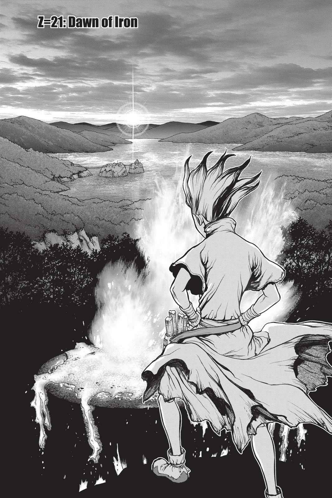 Dr. Stone Chapter 21 Page 1