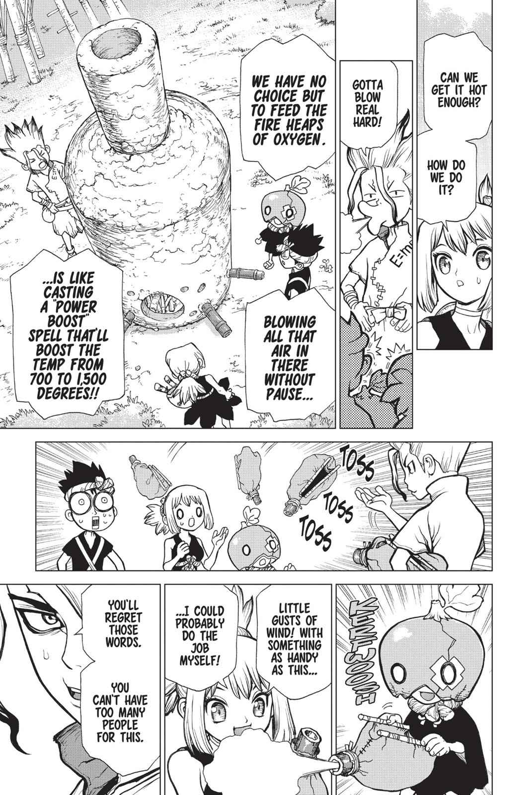 Dr. Stone Chapter 21 Page 13