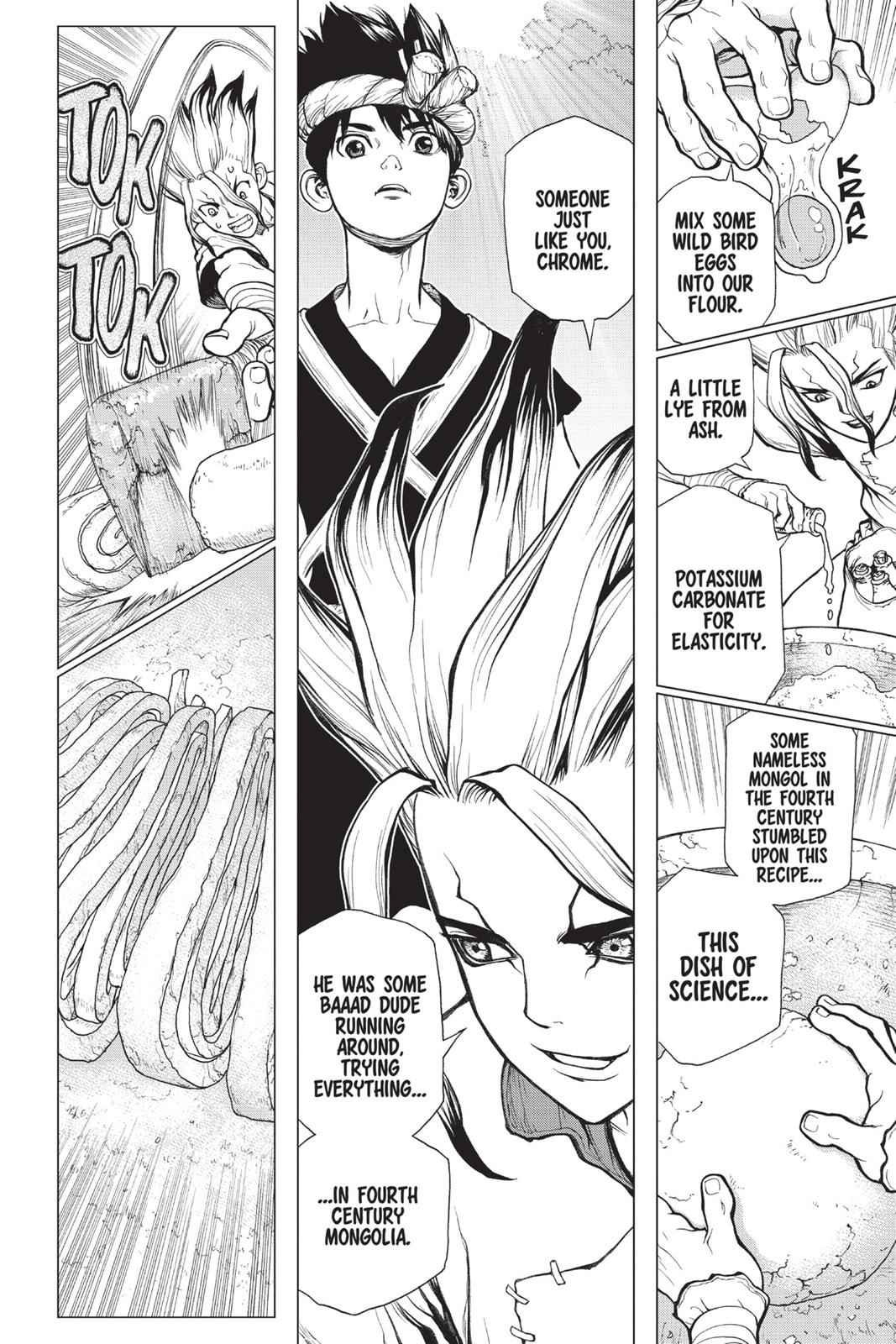 Dr. Stone Chapter 22 Page 14