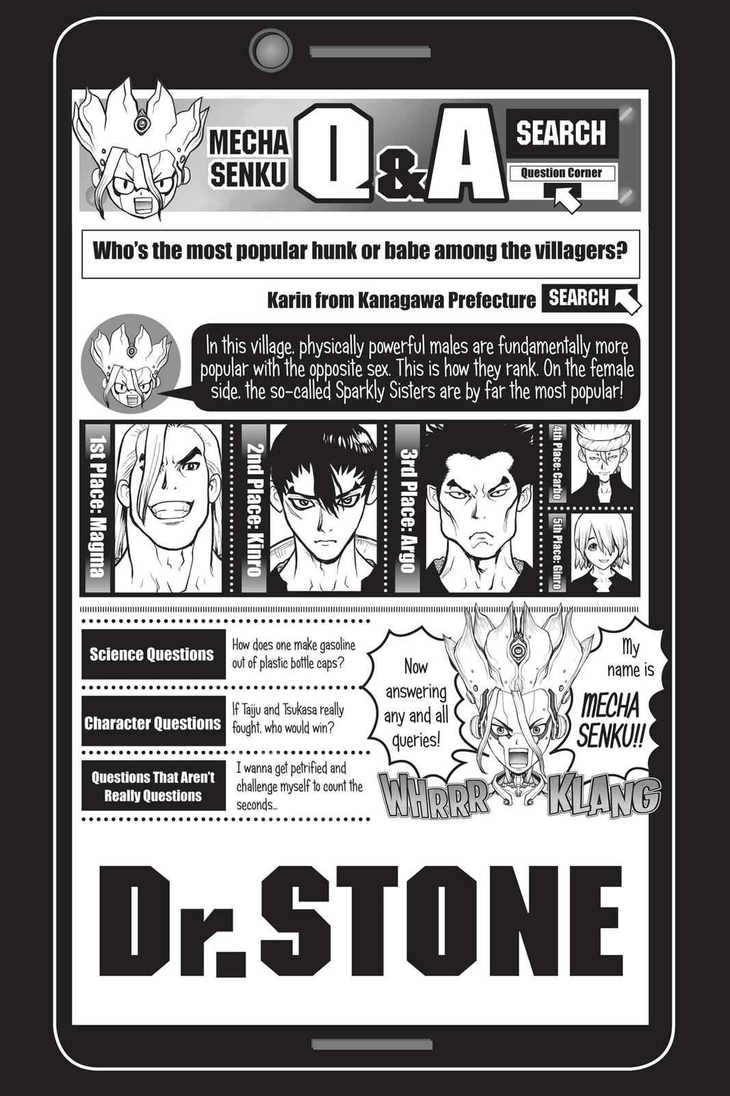 Dr. Stone Chapter 22 Page 20