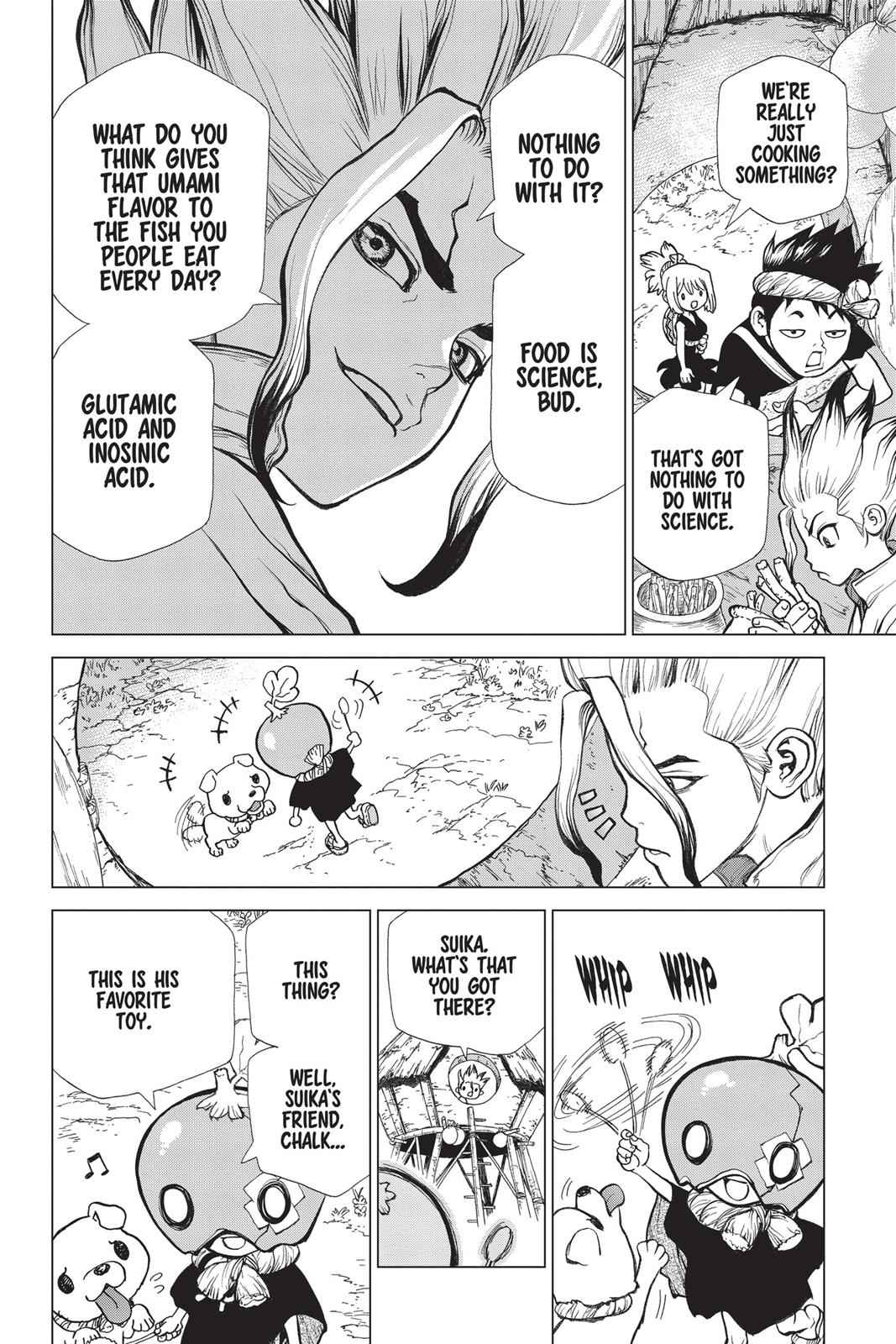 Dr. Stone Chapter 22 Page 8
