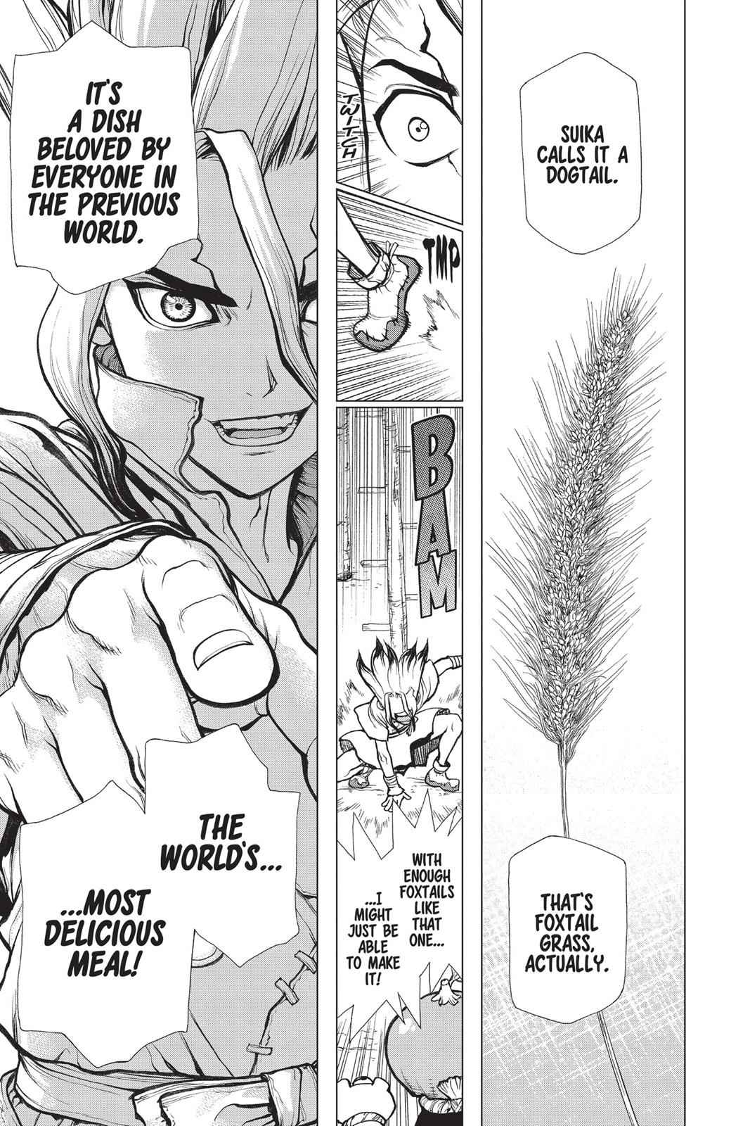 Dr. Stone Chapter 22 Page 9