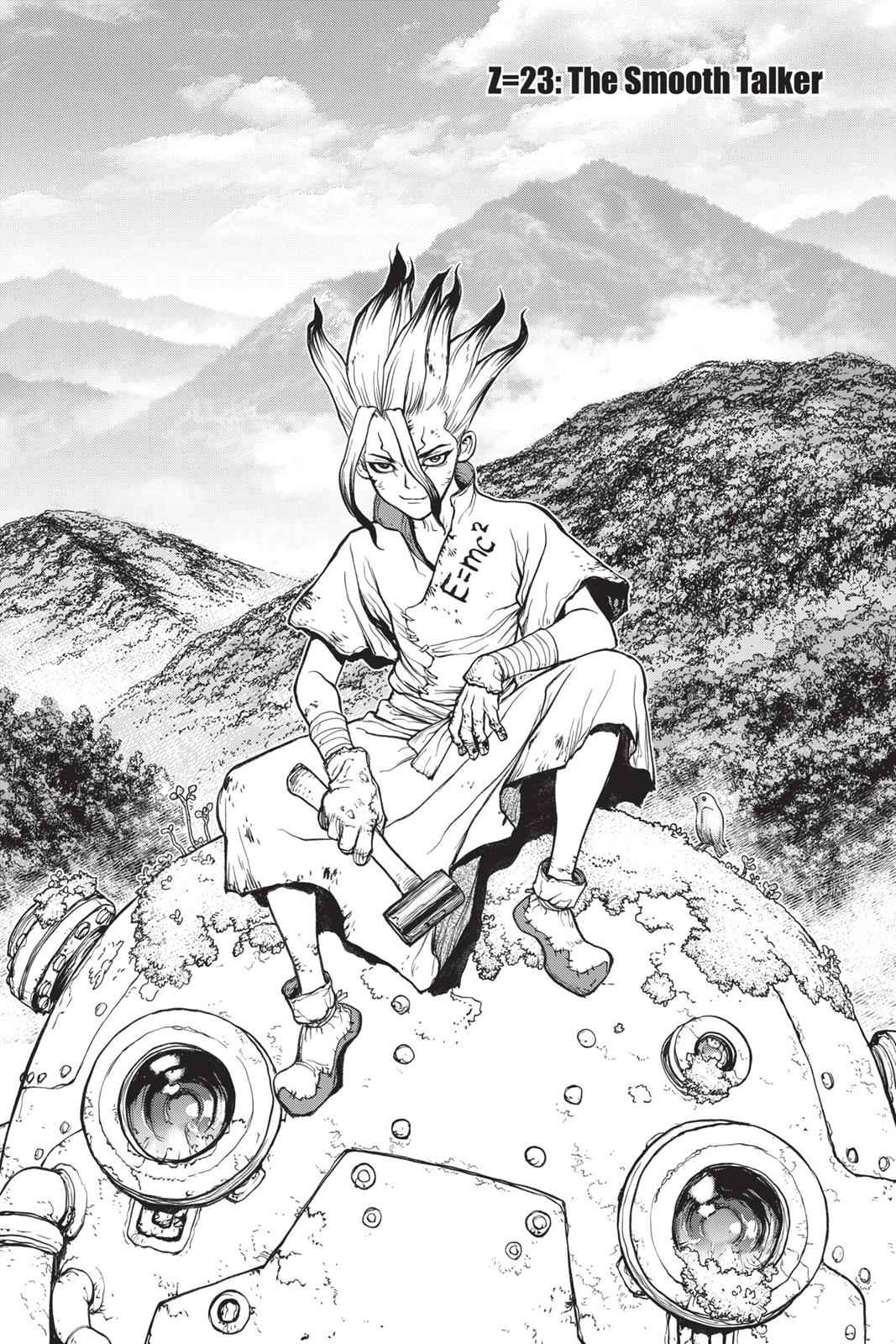 Dr. Stone Chapter 23 Page 1