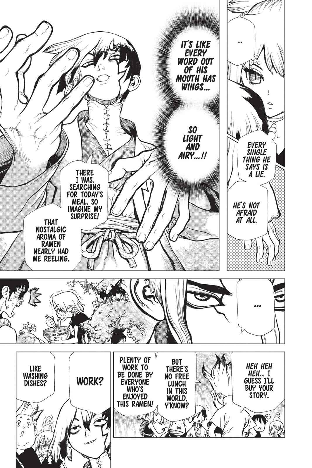 Dr. Stone Chapter 23 Page 10