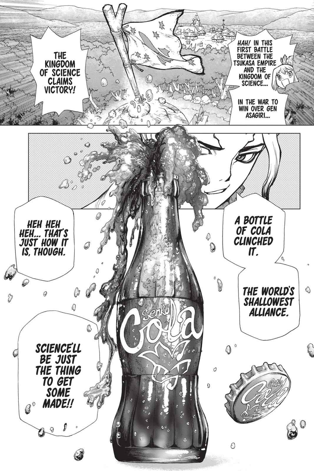 Dr. Stone Chapter 26 Page 25