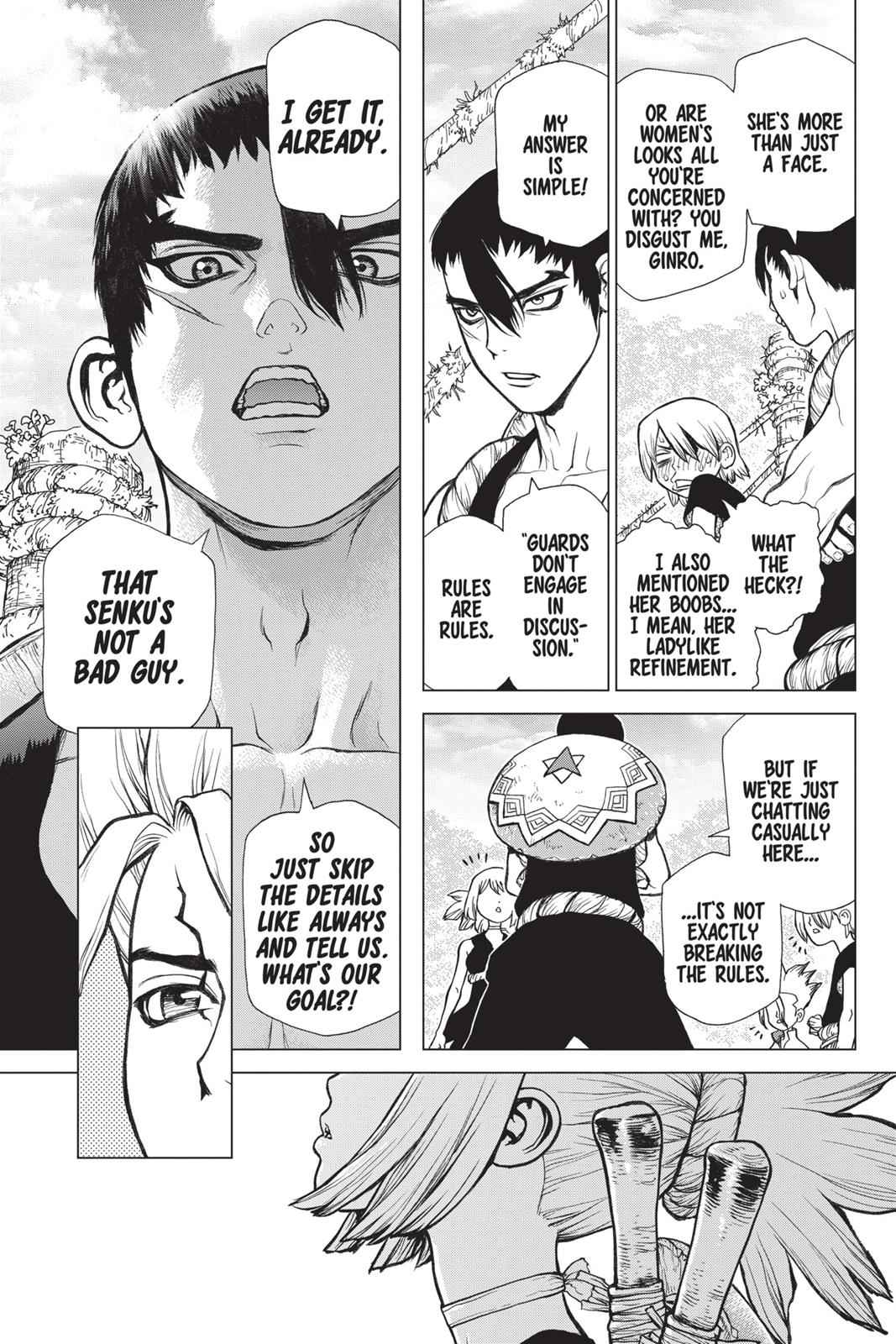Dr. Stone Chapter 27 Page 12