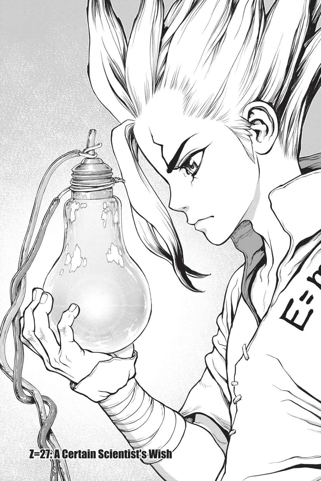Dr. Stone Chapter 27 Page 2