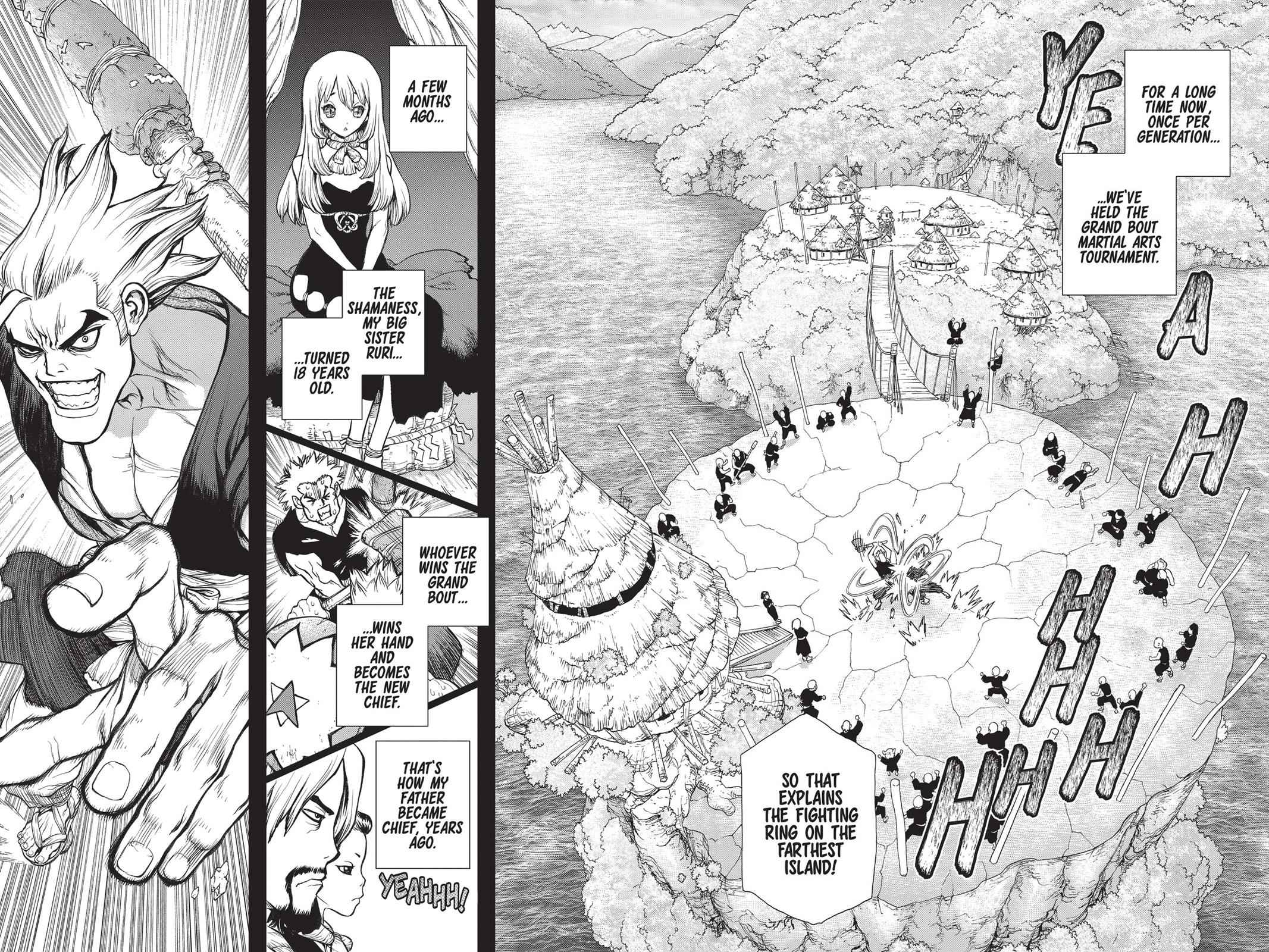 Dr. Stone Chapter 27 Page 6